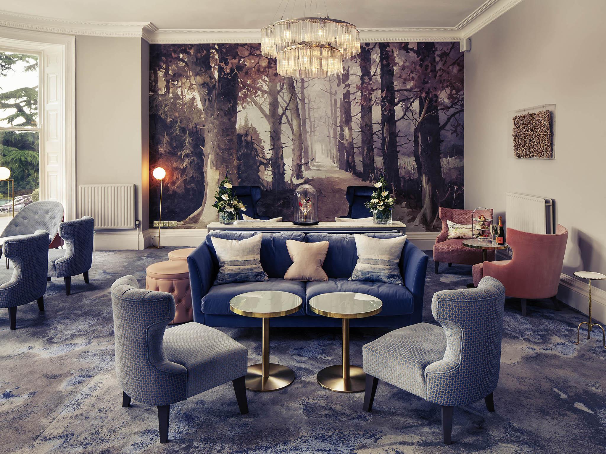 โรงแรม – Mercure Gloucester Bowden Hall Hotel