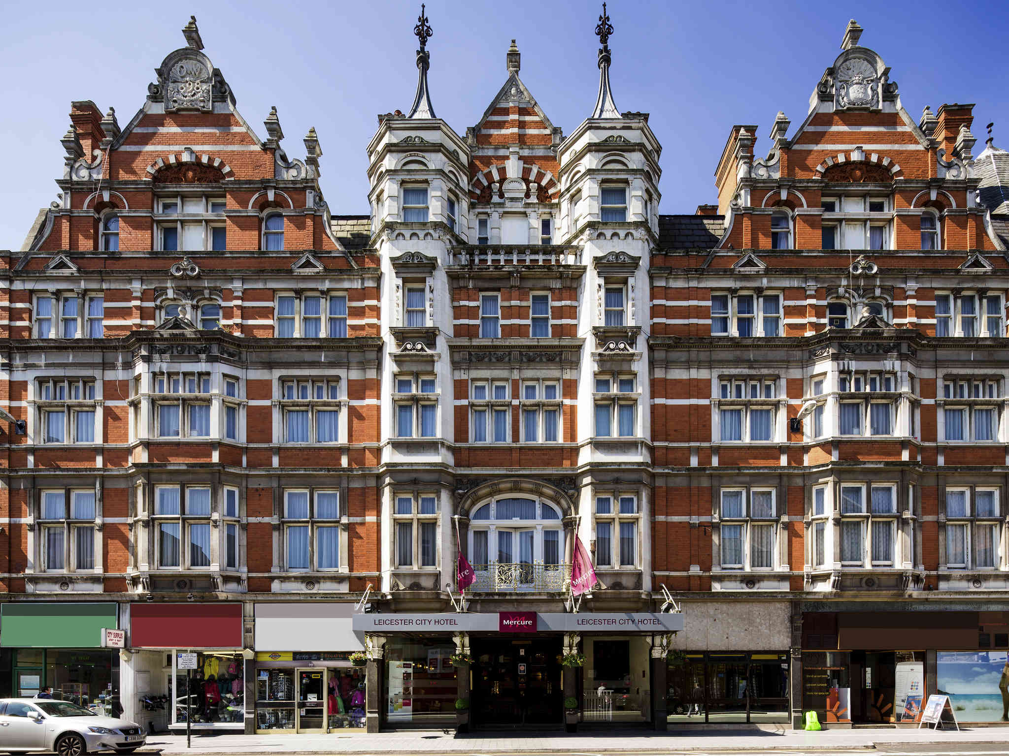 Отель — Mercure Leicester The Grand Hotel