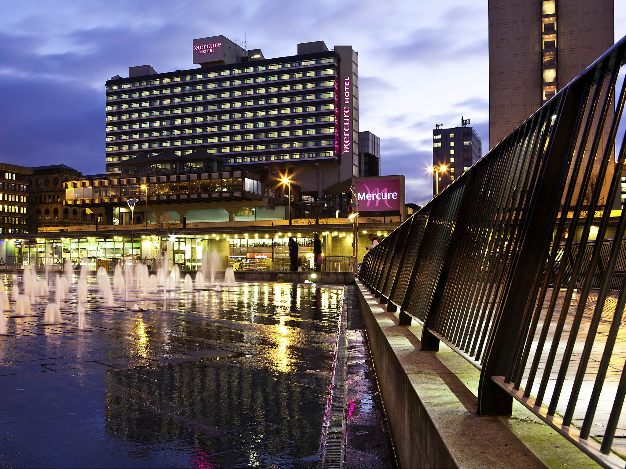 Hotel – Mercure Manchester Piccadilly Hotel