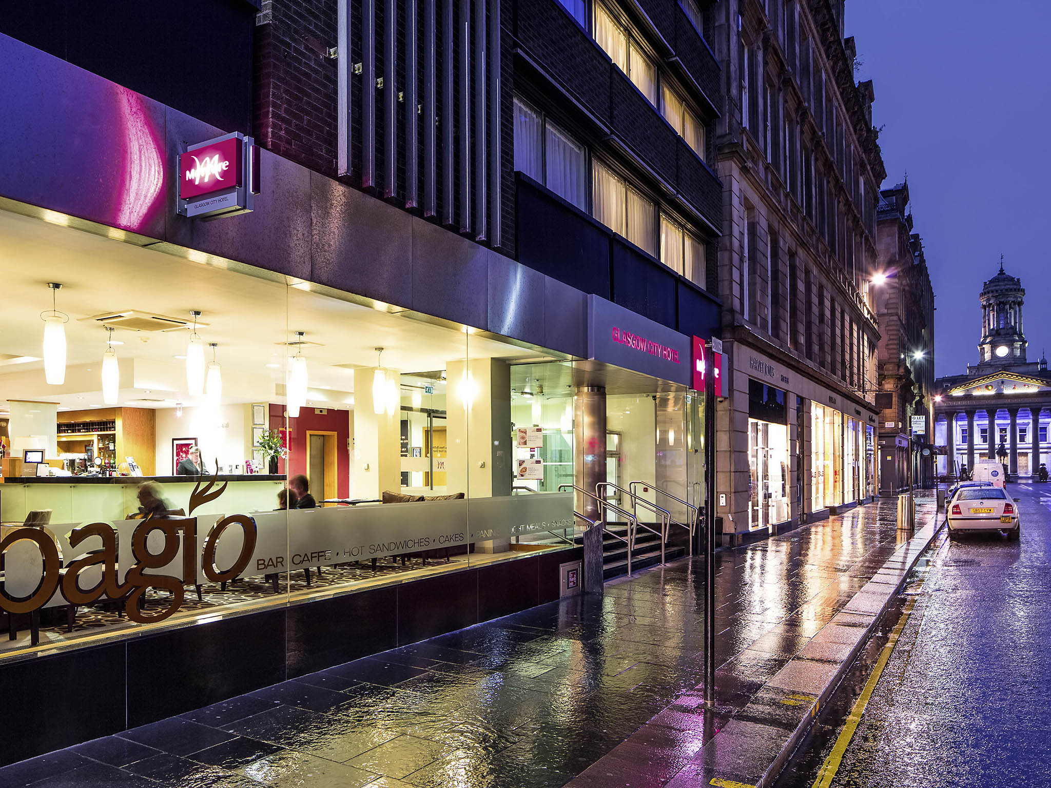 호텔 – Mercure Glasgow City Hotel