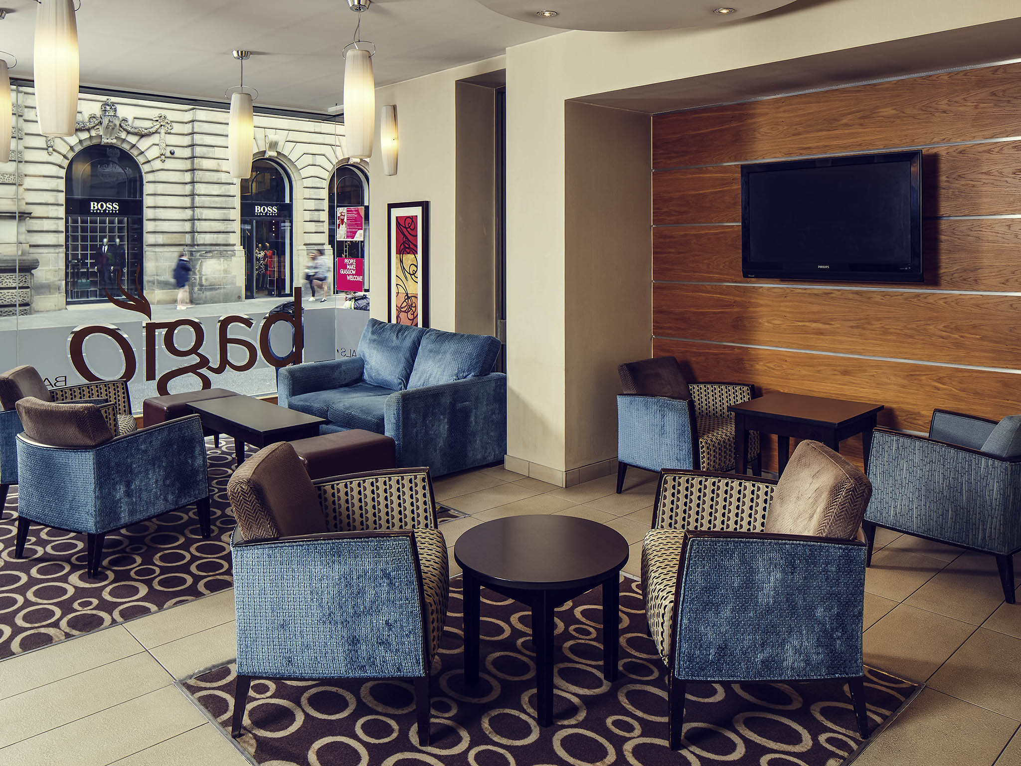 mercure glasgow city comfortable hotel in glasgow