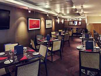 Restaurant - Mercure Glasgow City Hotel