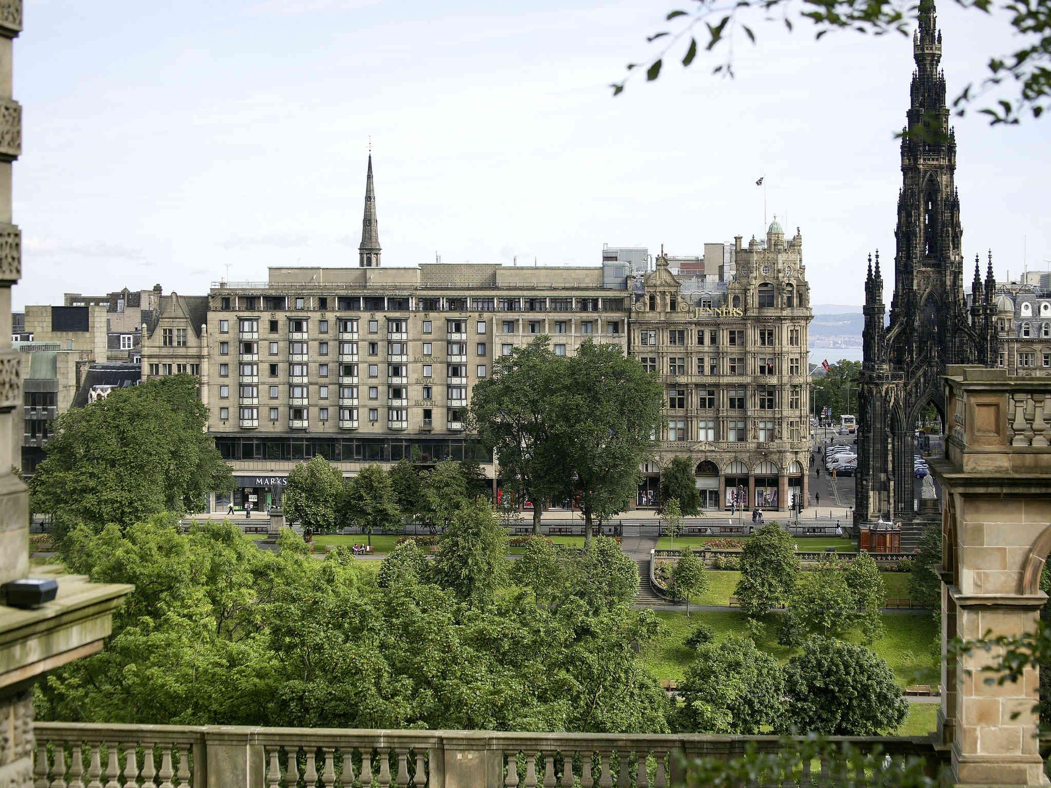 호텔 – Mercure Edinburgh City Princes Street Hotel
