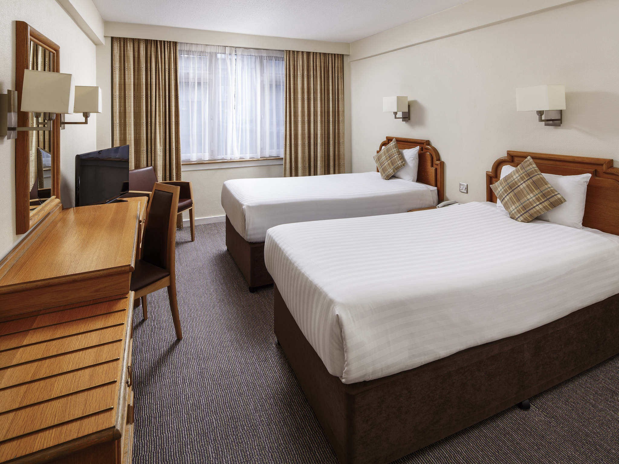 Rooms Mercure Edinburgh City Princes Street Hotel