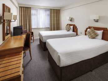 Rooms - Mercure Edinburgh City Princes Street Hotel