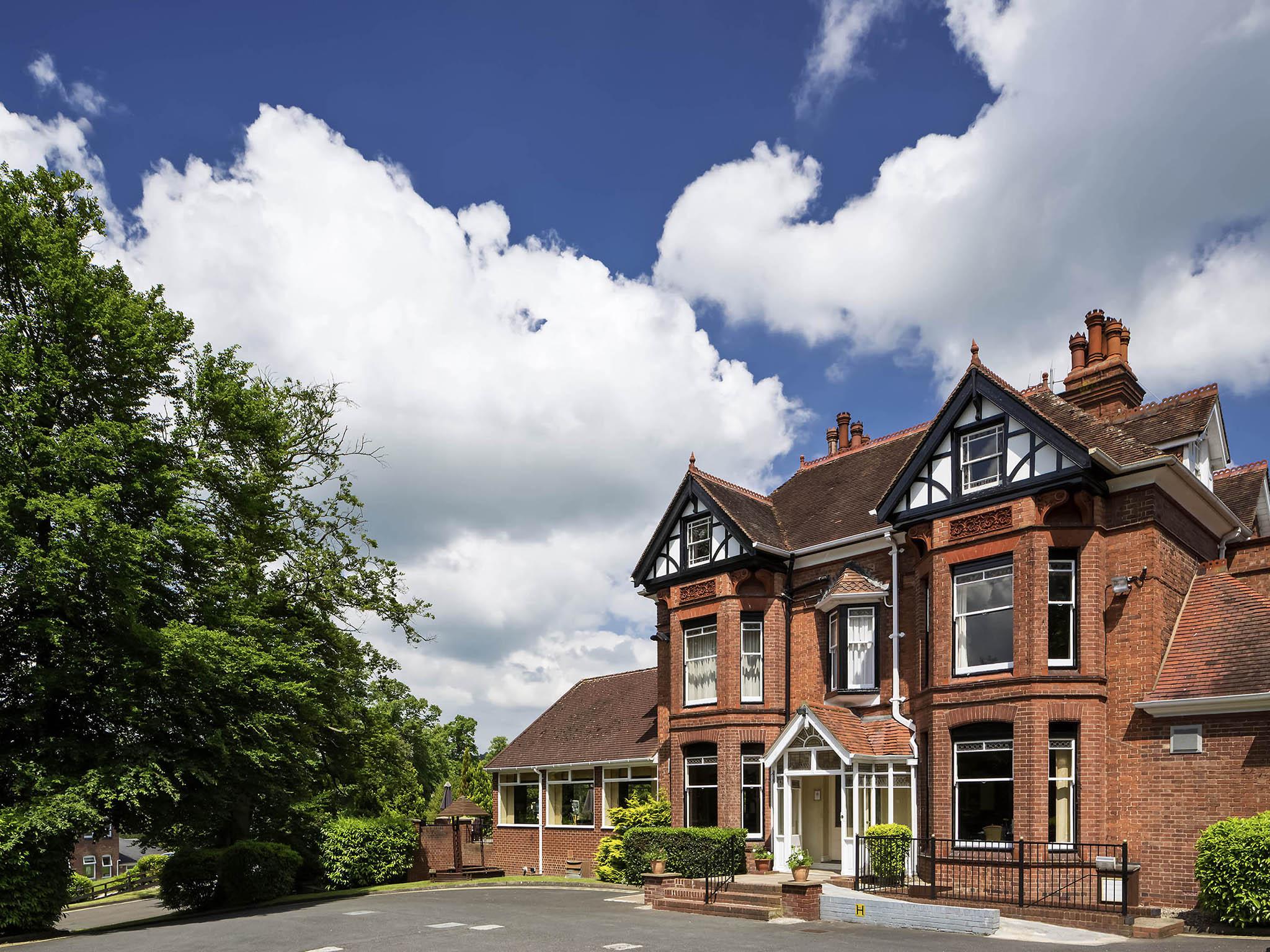 Hotel – Hotel Mercure Bewdley The Heath