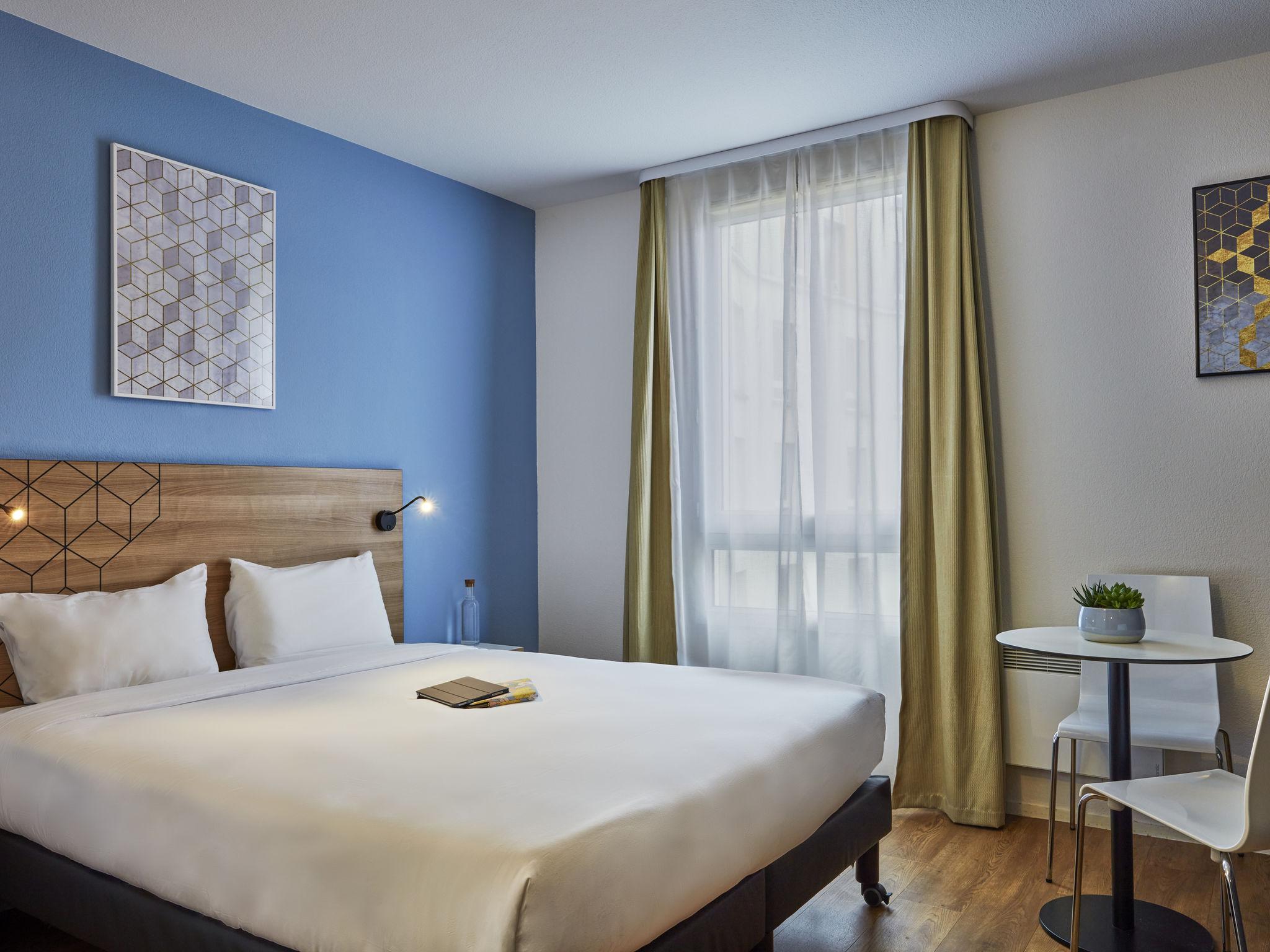 Отель — Aparthotel Adagio access Paris Quai d'Ivry