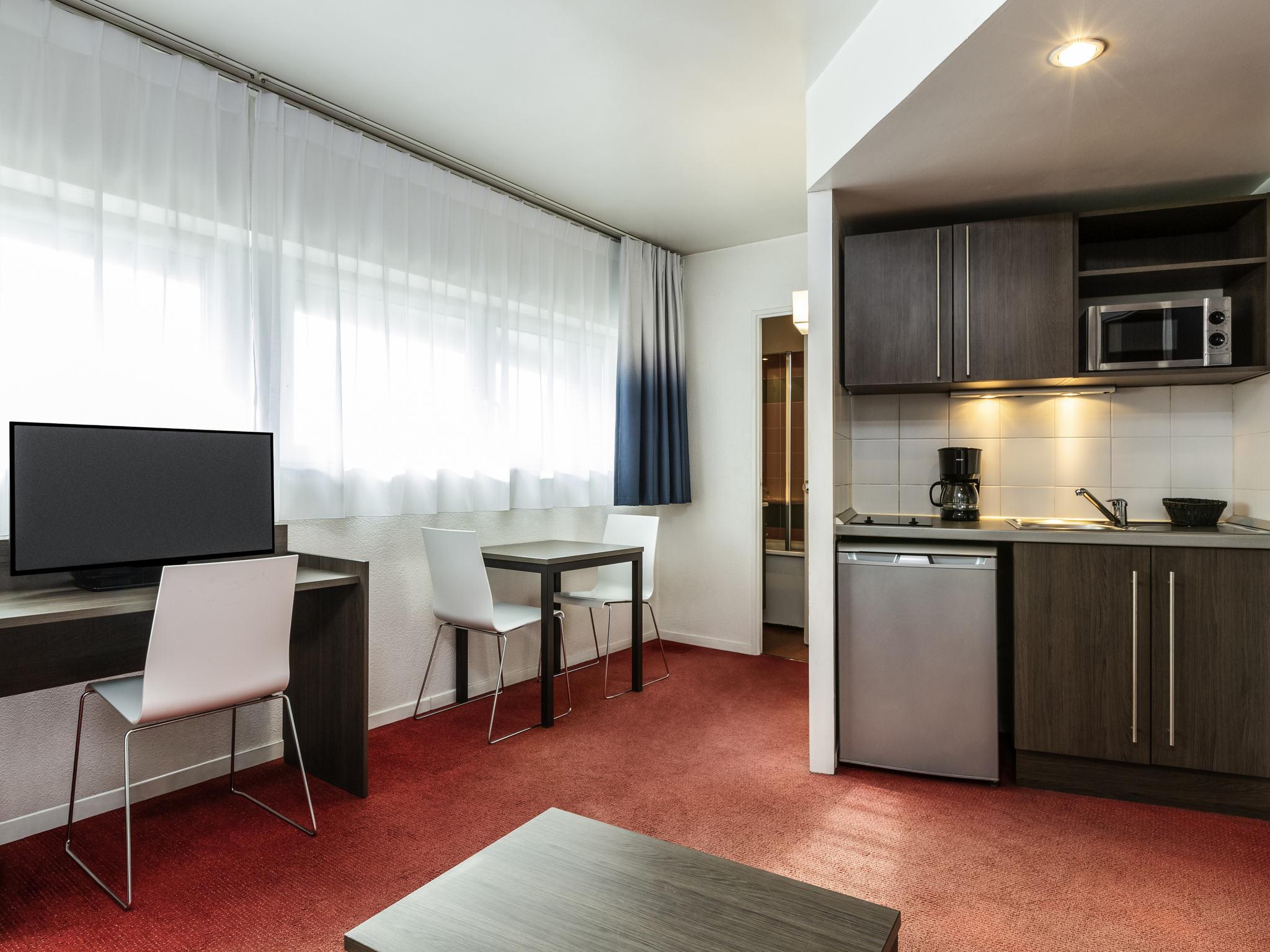 โรงแรม – อพาร์ทโฮเทล อดาจิโอ แอคเซส ปารีส ลา วิลแล็ต
