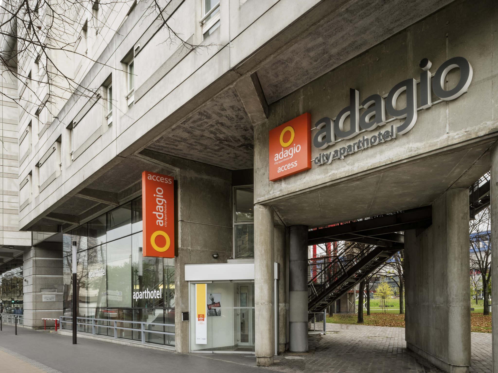 Hotel In PARIS Aparthotel Adagio Access Paris La Villette - Hotel porte de la villette