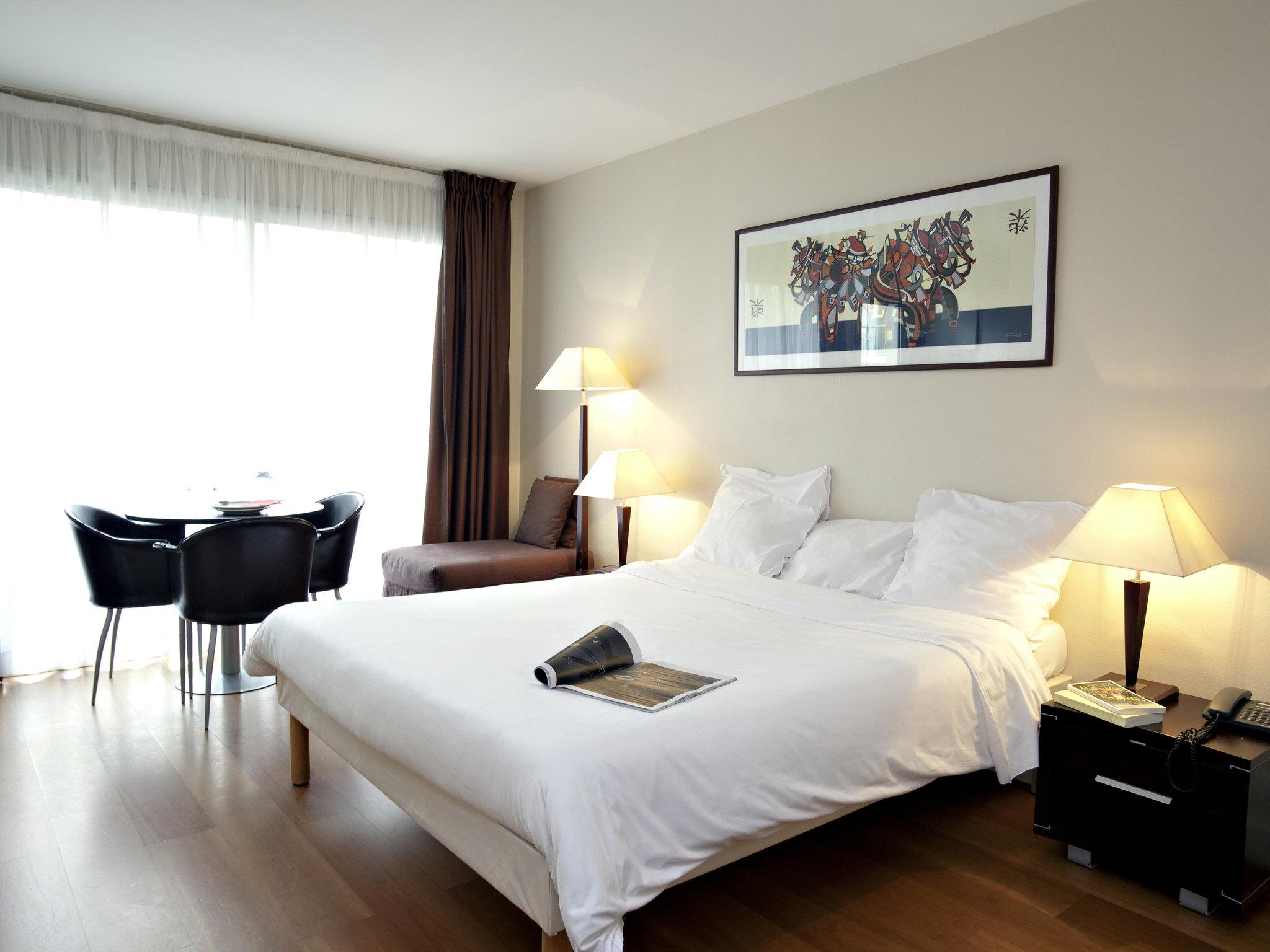 Отель — Апарт-отель Adagio access Париж Эйфелева Башня Сен-Шарль