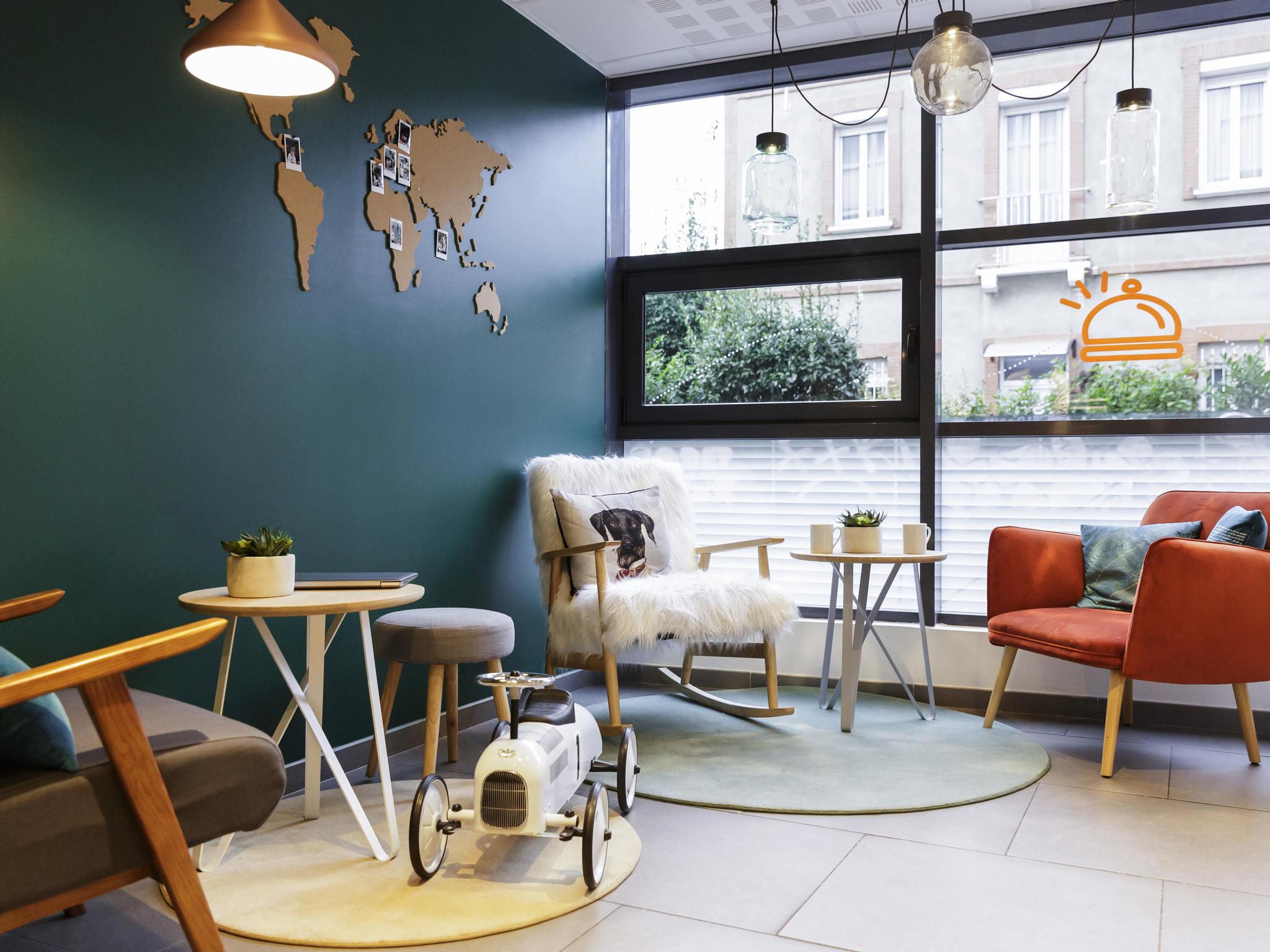 โรงแรม – Aparthotel Adagio access Toulouse Saint-Cyprien