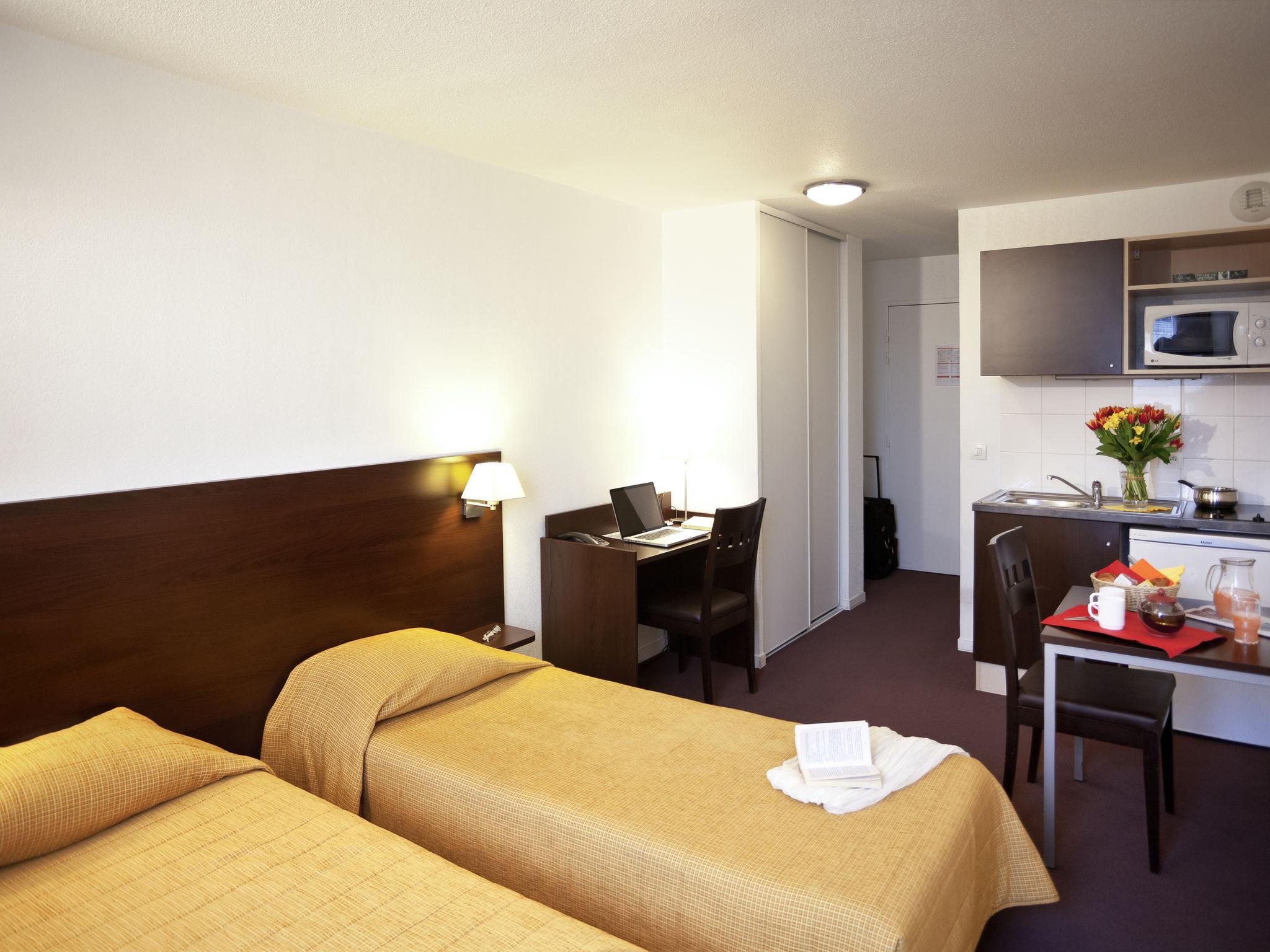 Отель — Aparthotel Adagio Access Париж Сен-Дени Плейель