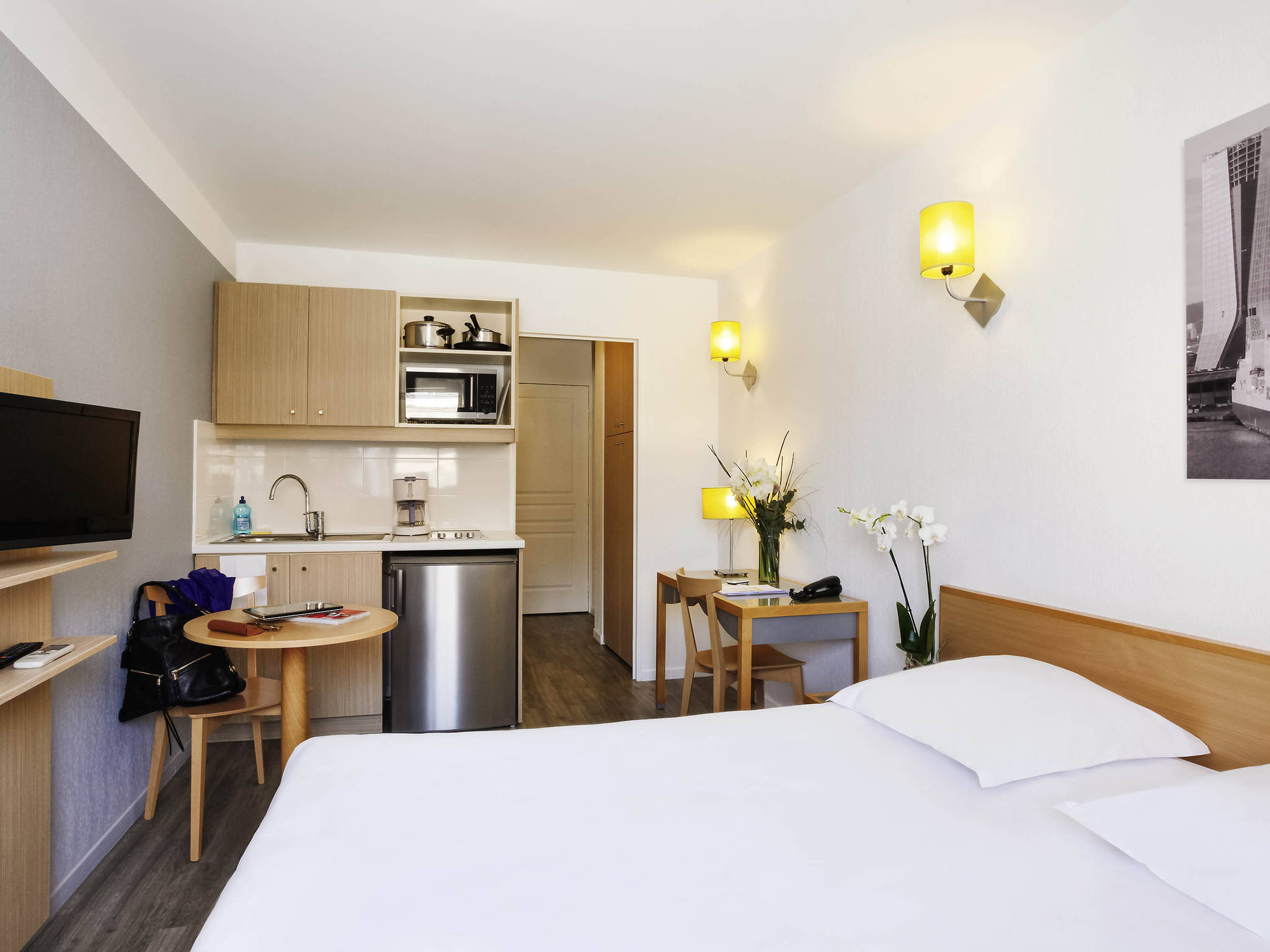 Hotel – Aparthotel Adagio Access Marselha Prado Périer