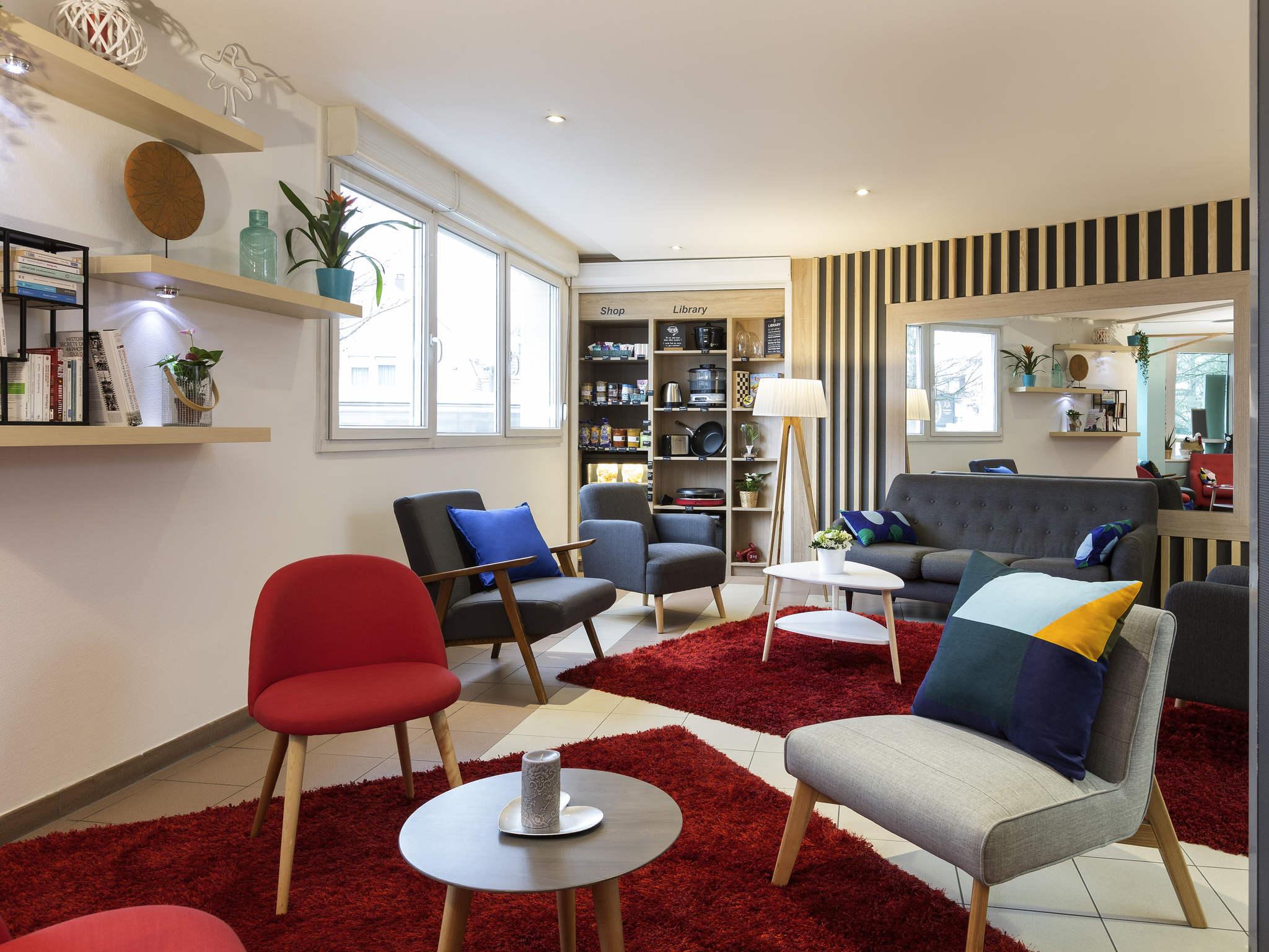 Отель — Aparthotel Adagio access Strasbourg Illkirch