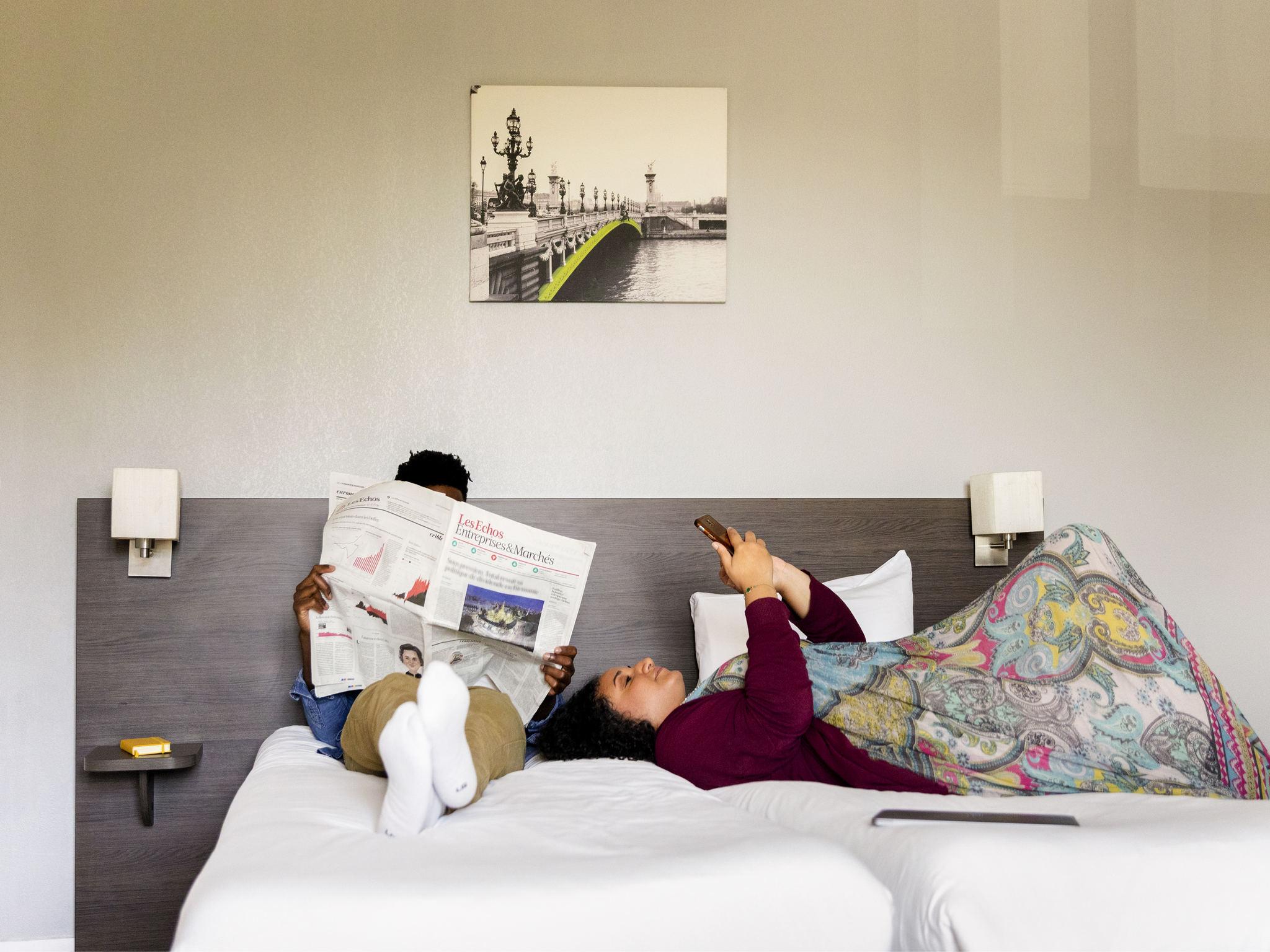 酒店 – 阿德吉奥阿克瑟斯马恩河畔诺让酒店