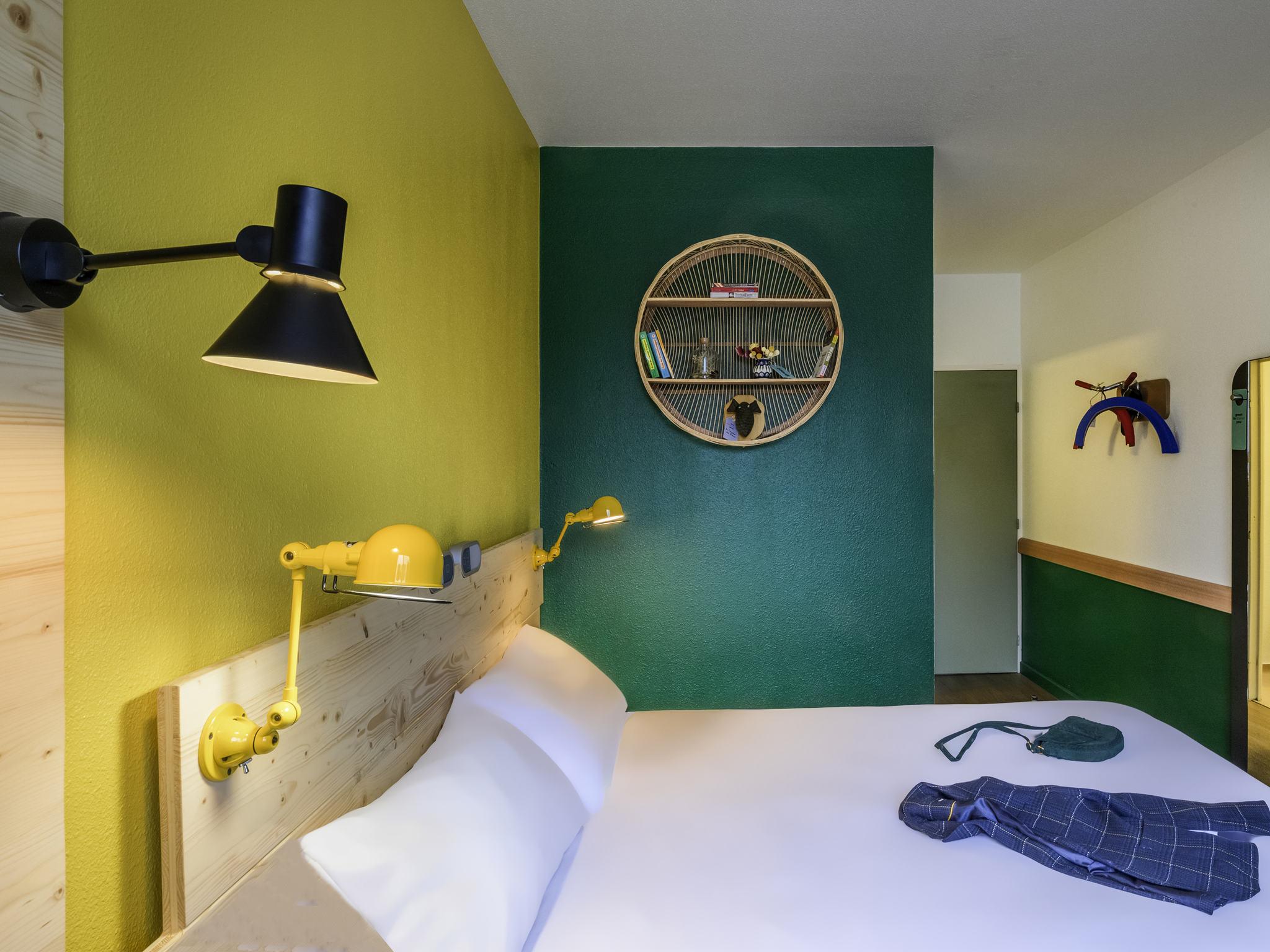 Hotell – ibis budget Évreux Centre