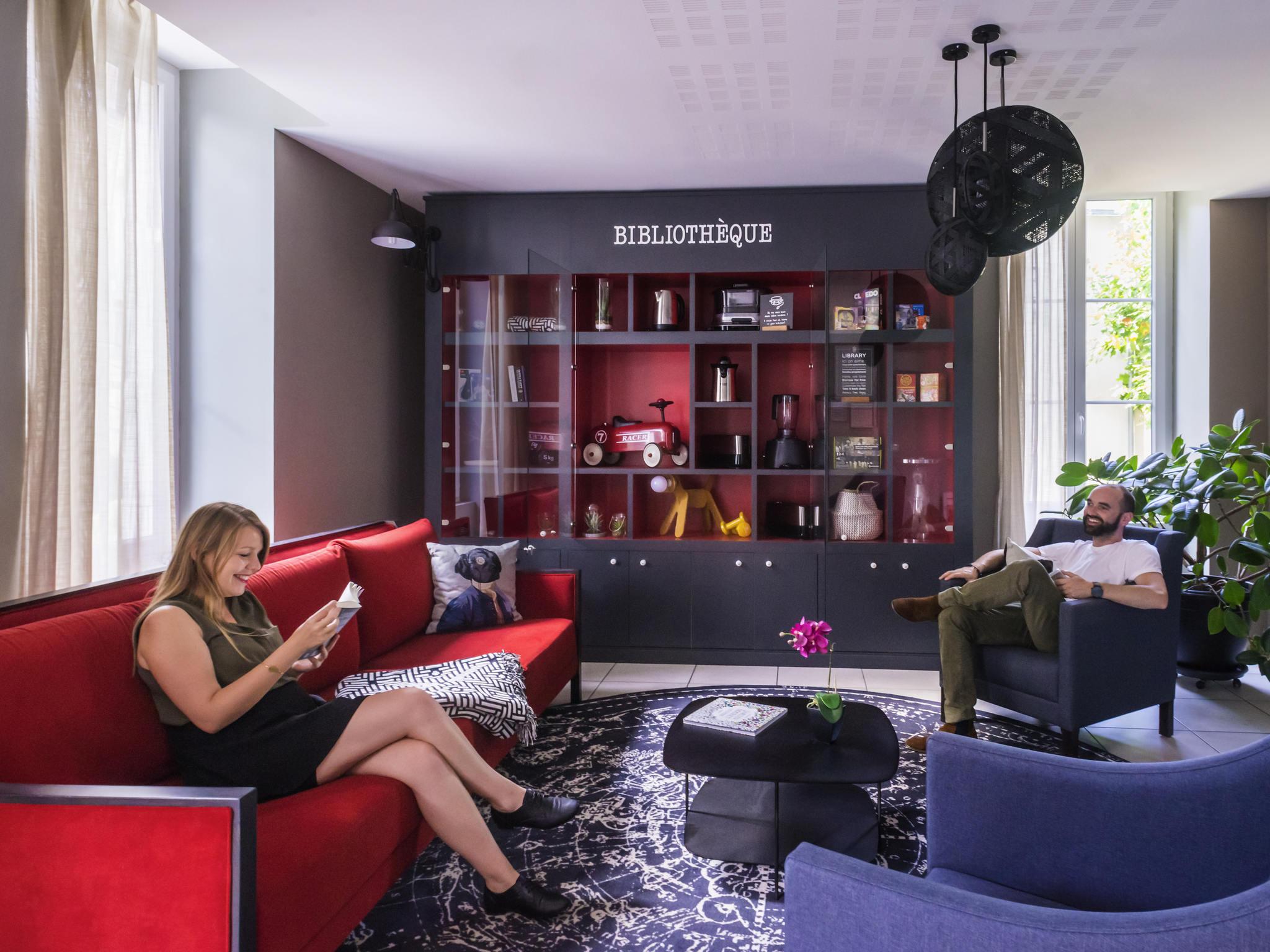 โรงแรม – Aparthotel Adagio access Nantes Viarme