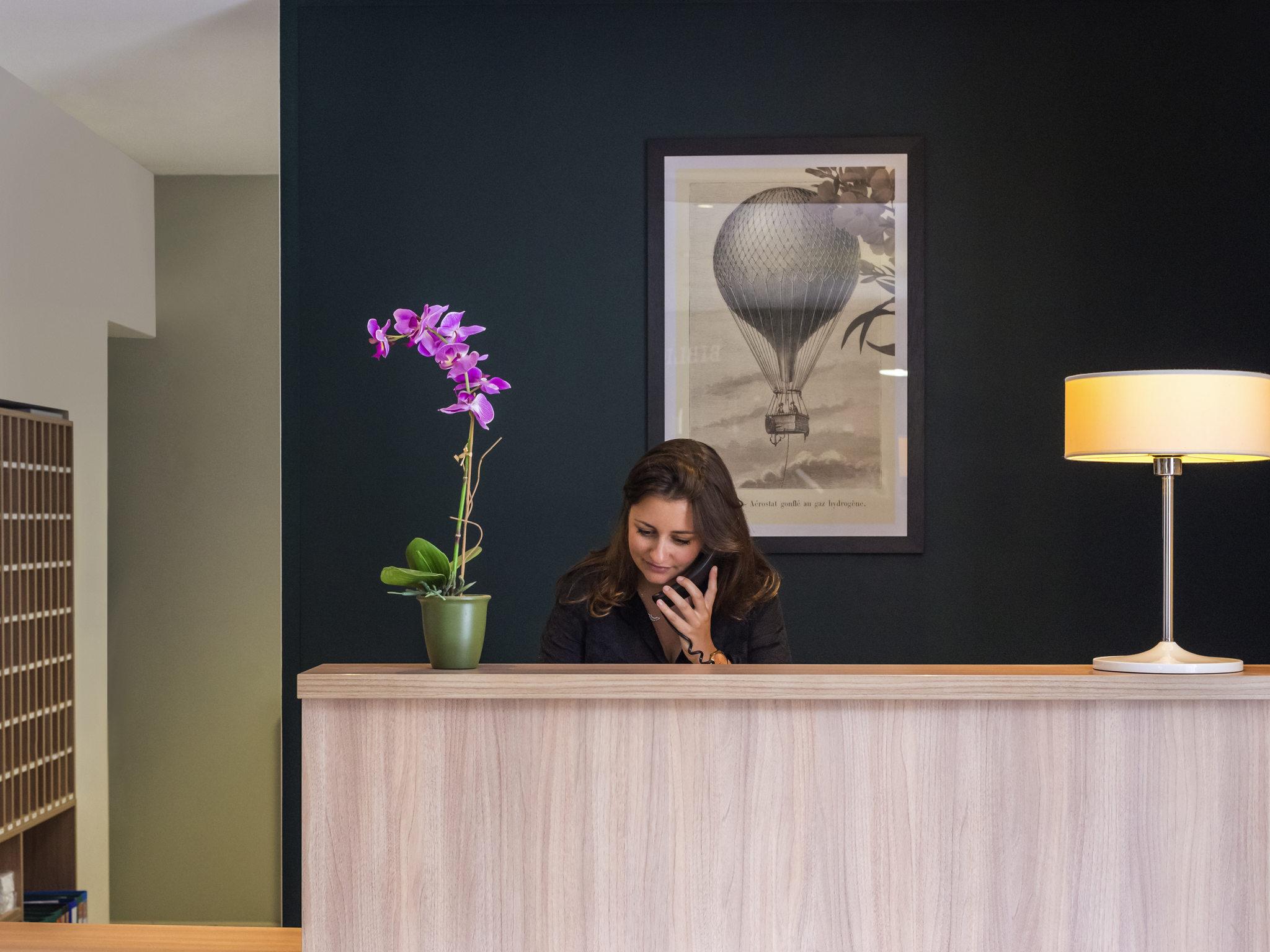Hotel in NANTES Aparthotel Adagio access Nantes Viarme