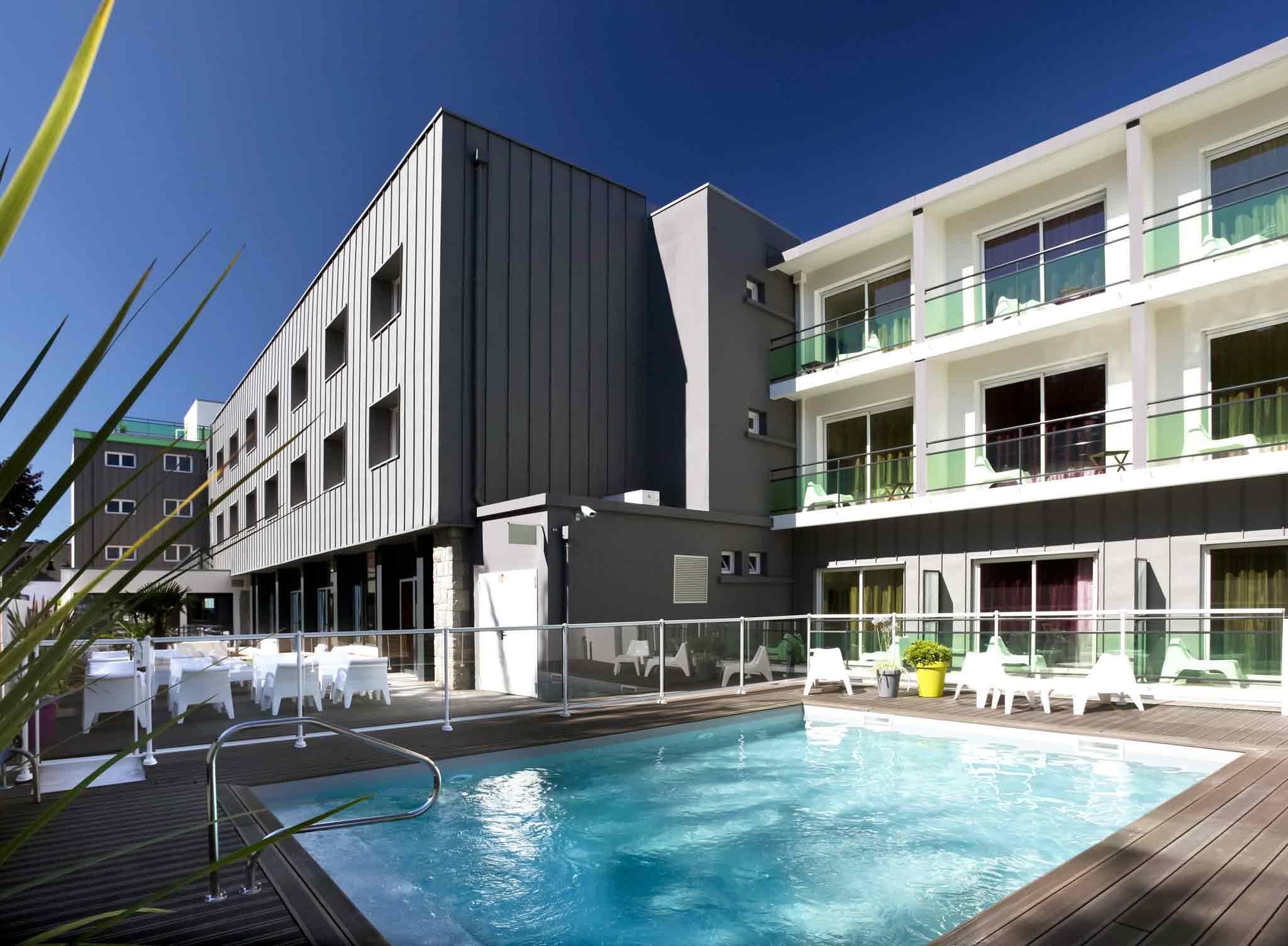H tel quiberon ibis styles quiberon centre for Hotel quiberon piscine