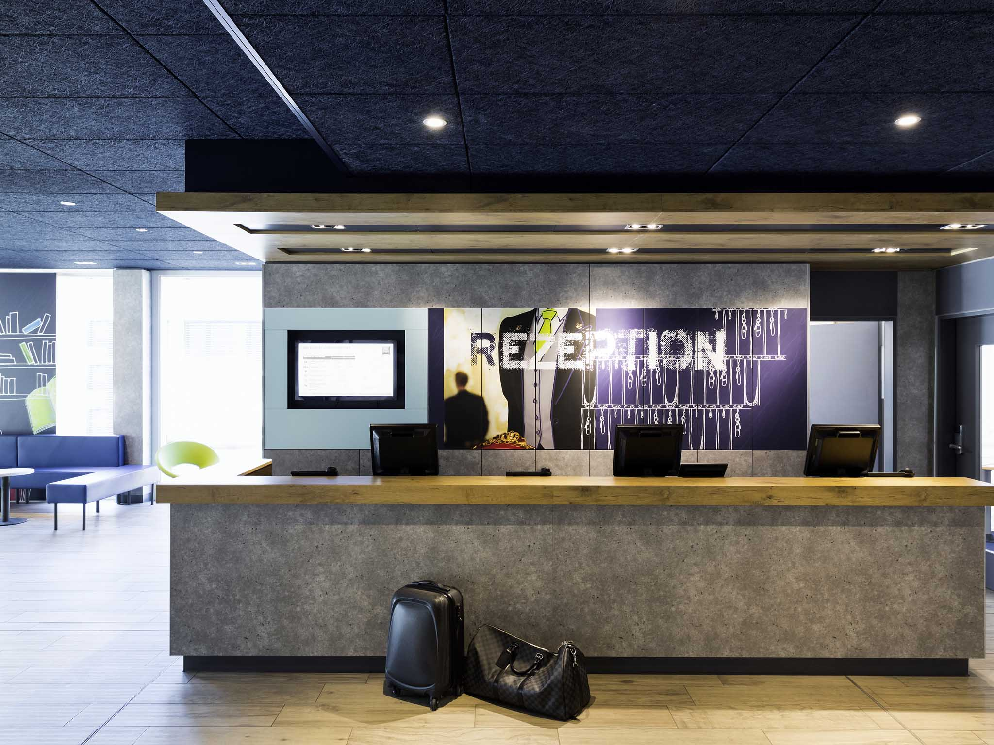 โรงแรม – ibis budget Zurich Airport