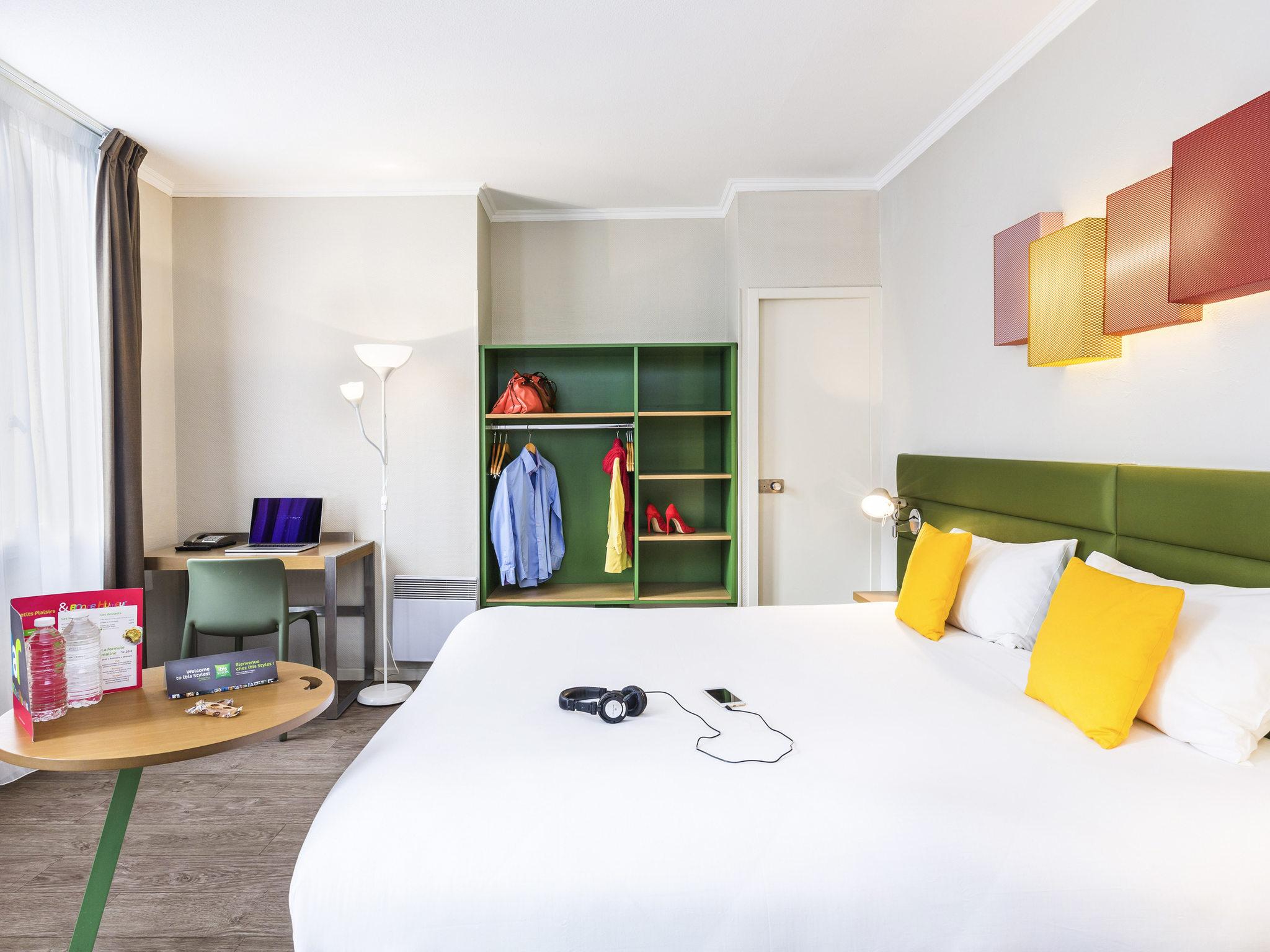 Отель — ibis Styles Тулуза Вокзал Центр Матабьо
