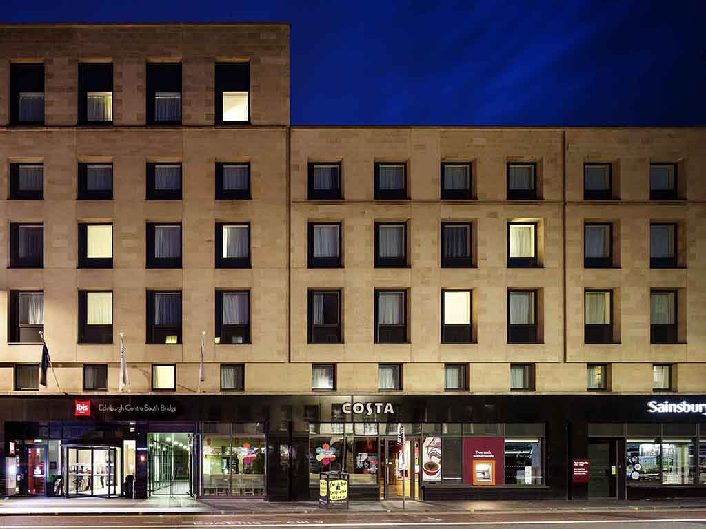 Ibis Edinburgh Centre South Bridge Cheap Hotels Edinburgh