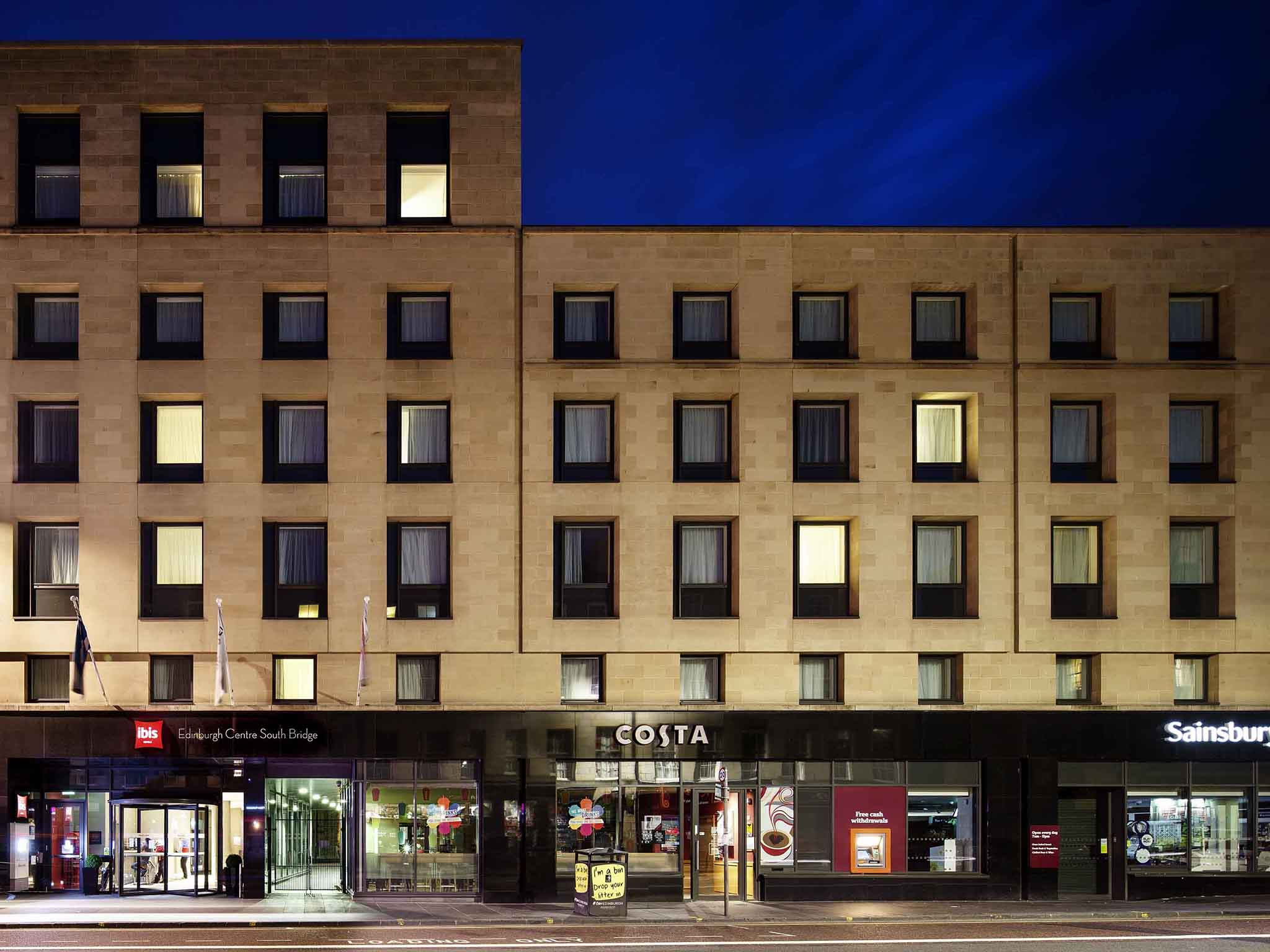 Отель — Отель ibis Эдинбург Центр Саут Бридж- Королевская Миля