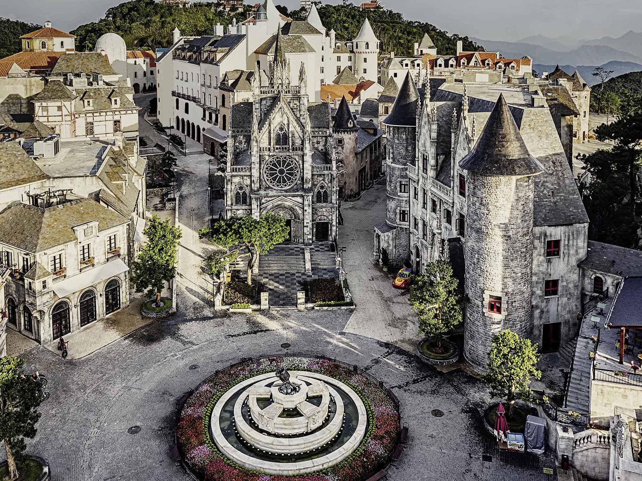Отель — Mercure Дананг Французская Деревня Гора Бана