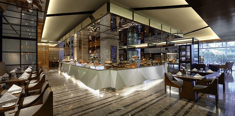 Restaurants bars vinoteca pullman jakarta indonesia for Design hotel jakarta