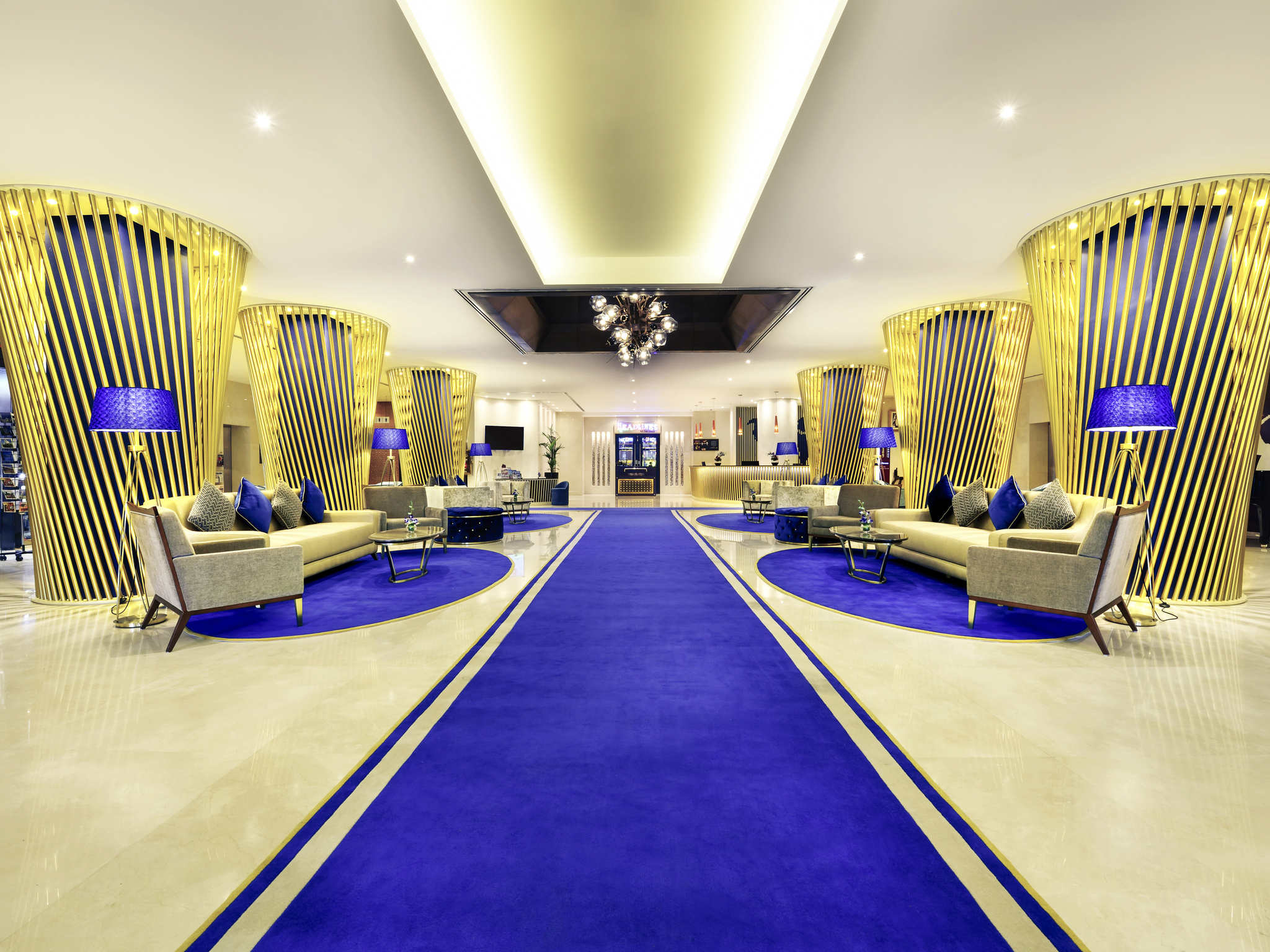 فندق - فندق مركيور Mercure جولد طريق المينا دبي