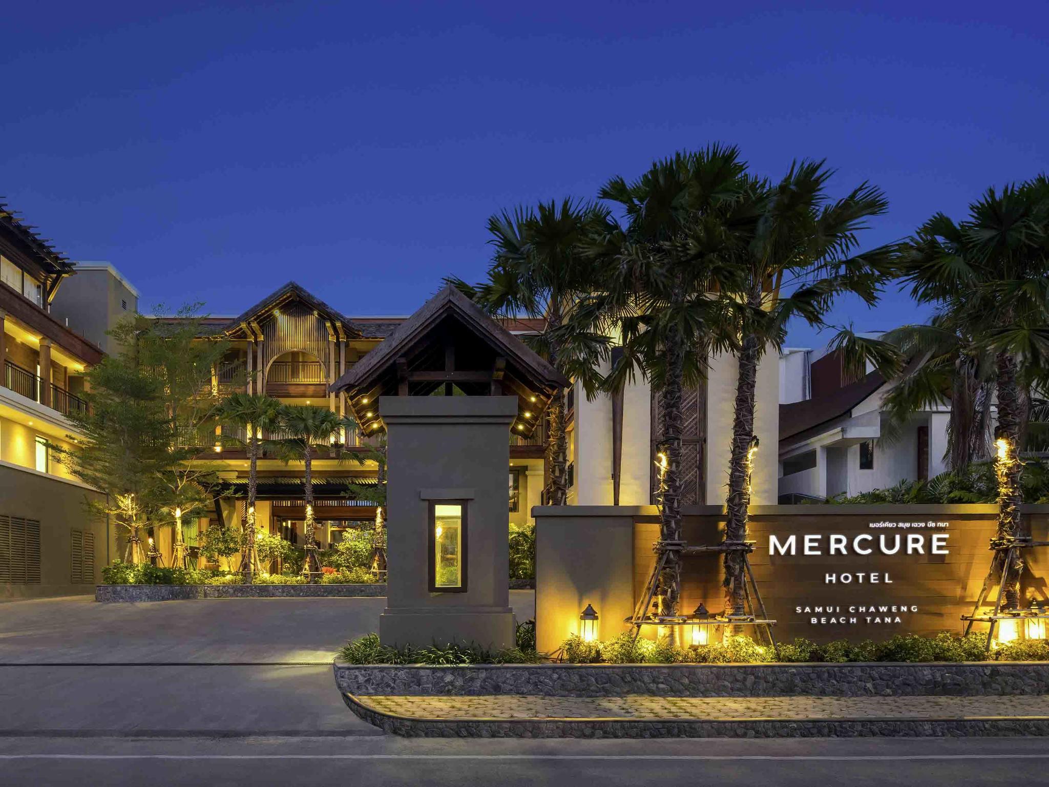 โรงแรม – เมอร์เคียว สมุย เฉวง ธนา