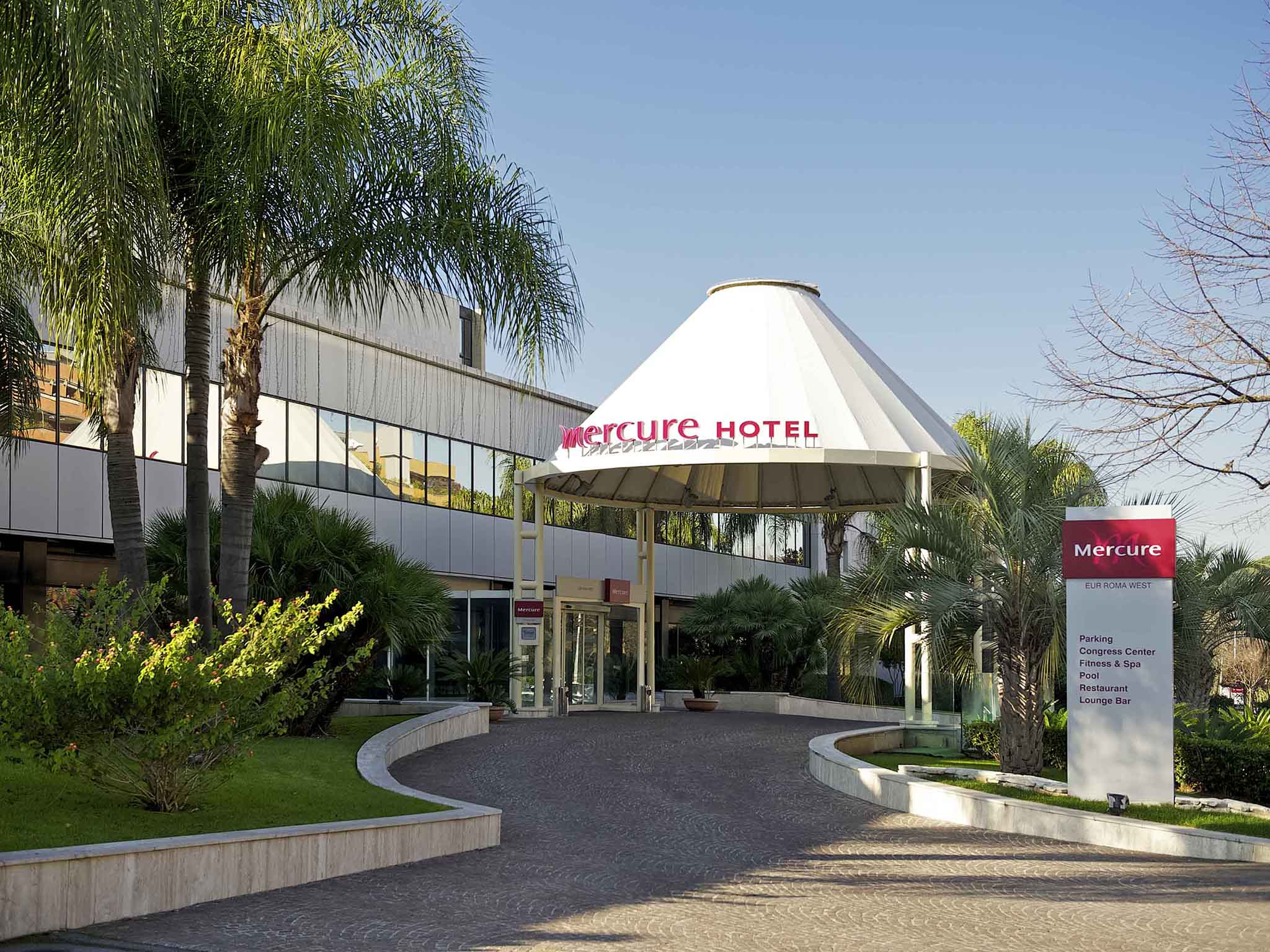 โรงแรม – Mercure Roma West