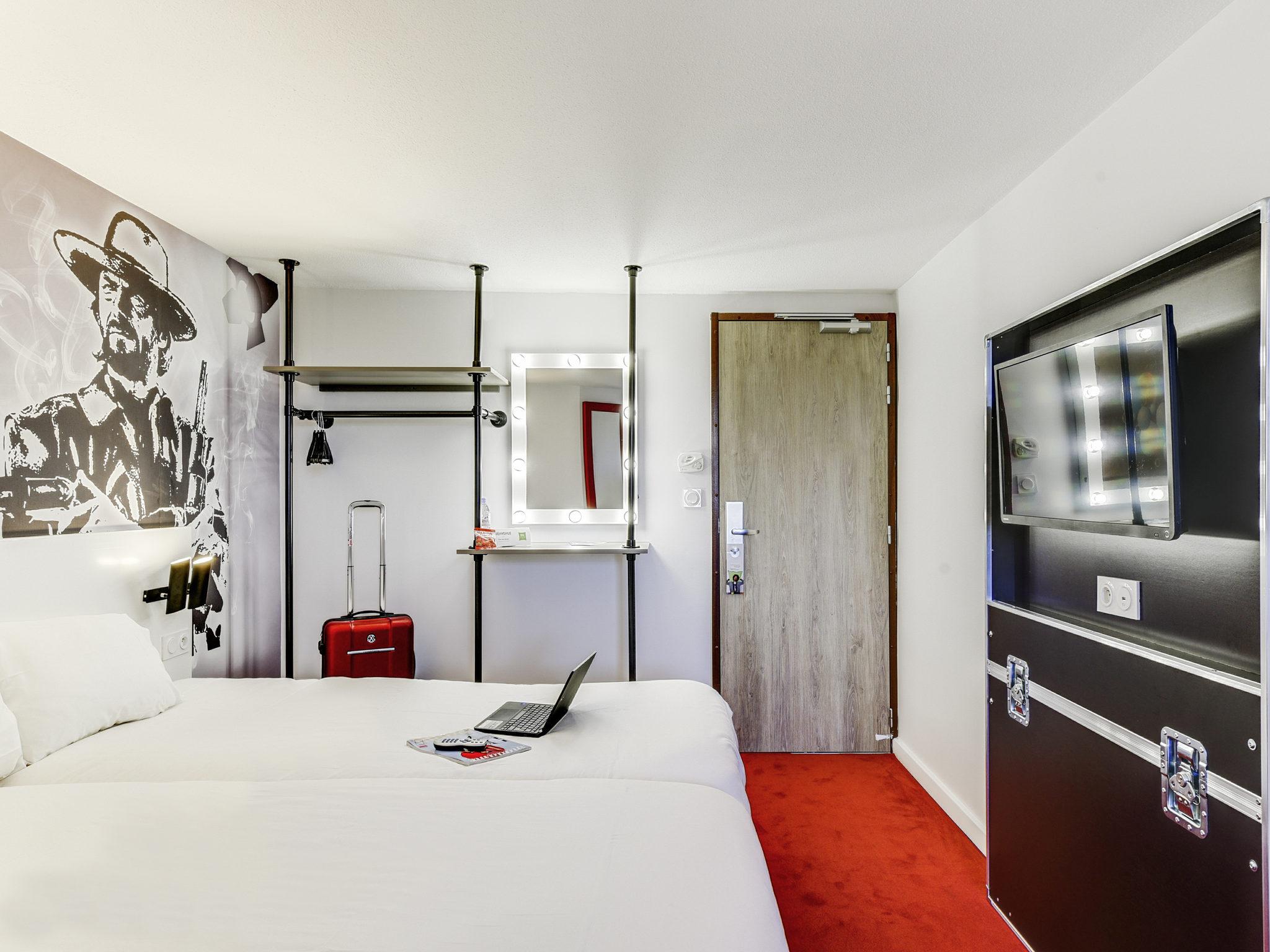 酒店 – 宜必思尚品巴黎拉普莱纳圣丹尼酒店