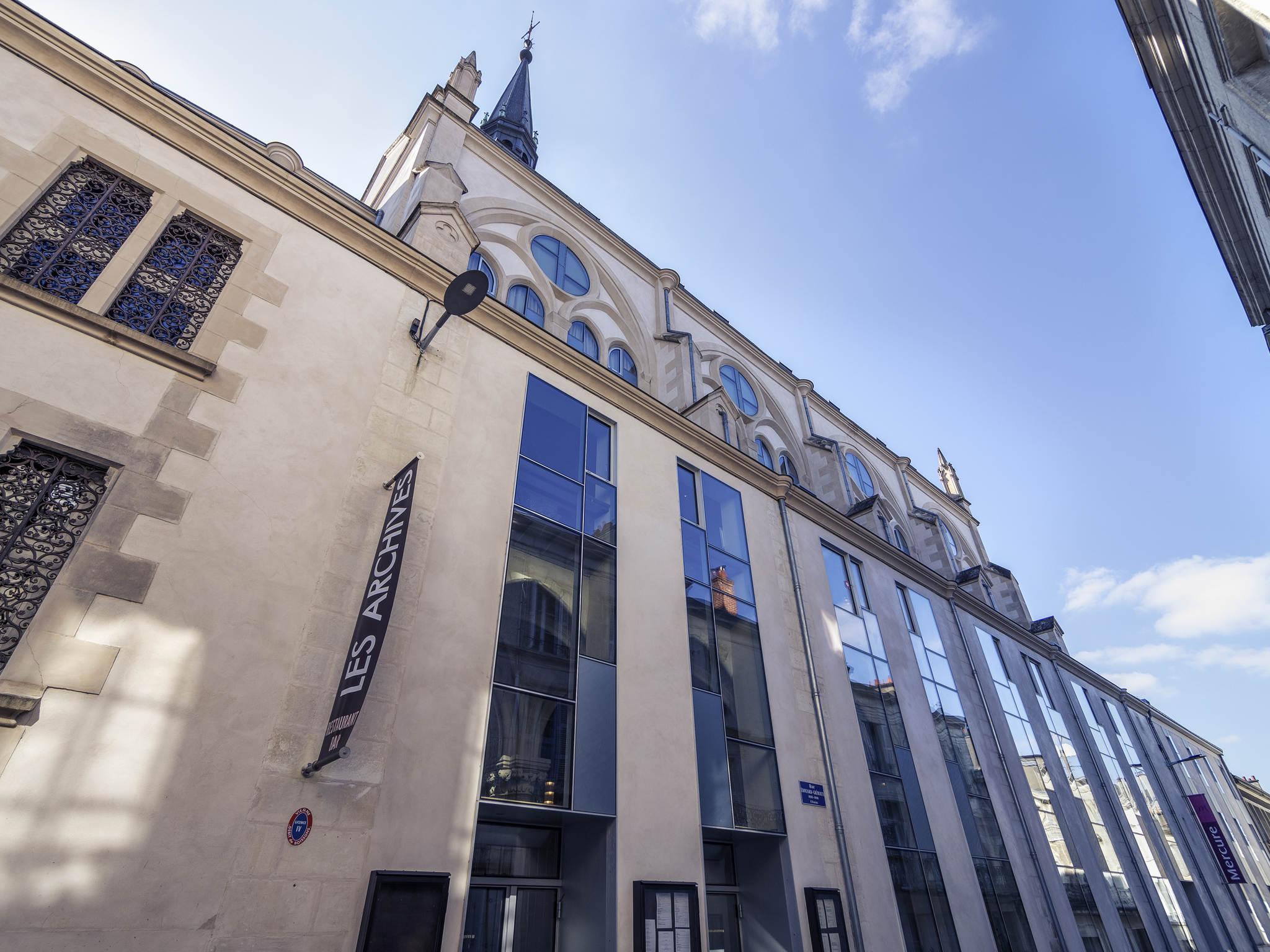 Отель — Hôtel Mercure Poitiers Centre