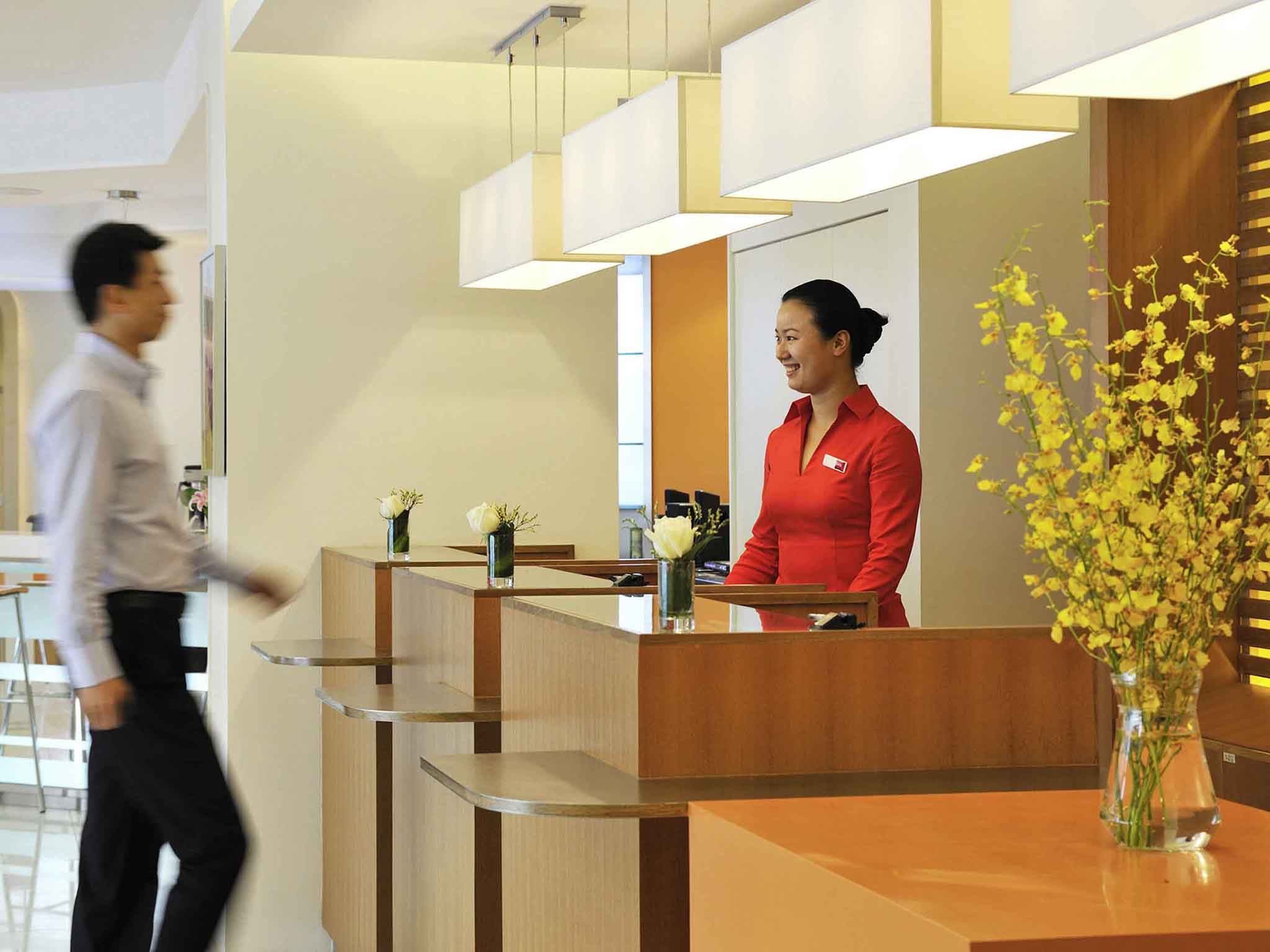 Отель — ibis Suzhou Amusement Xuguan