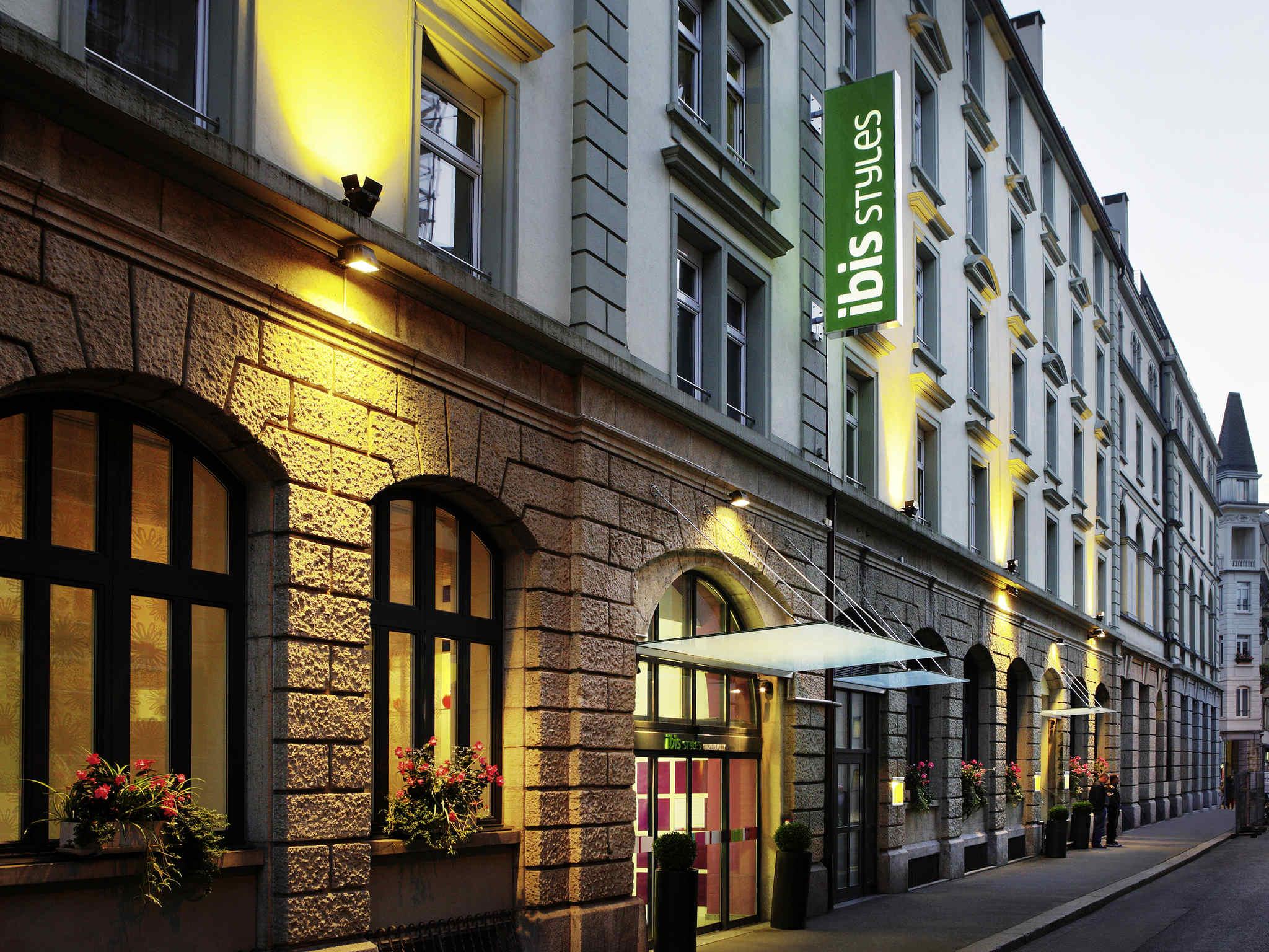 Отель — ibis Styles Люцерн Сити