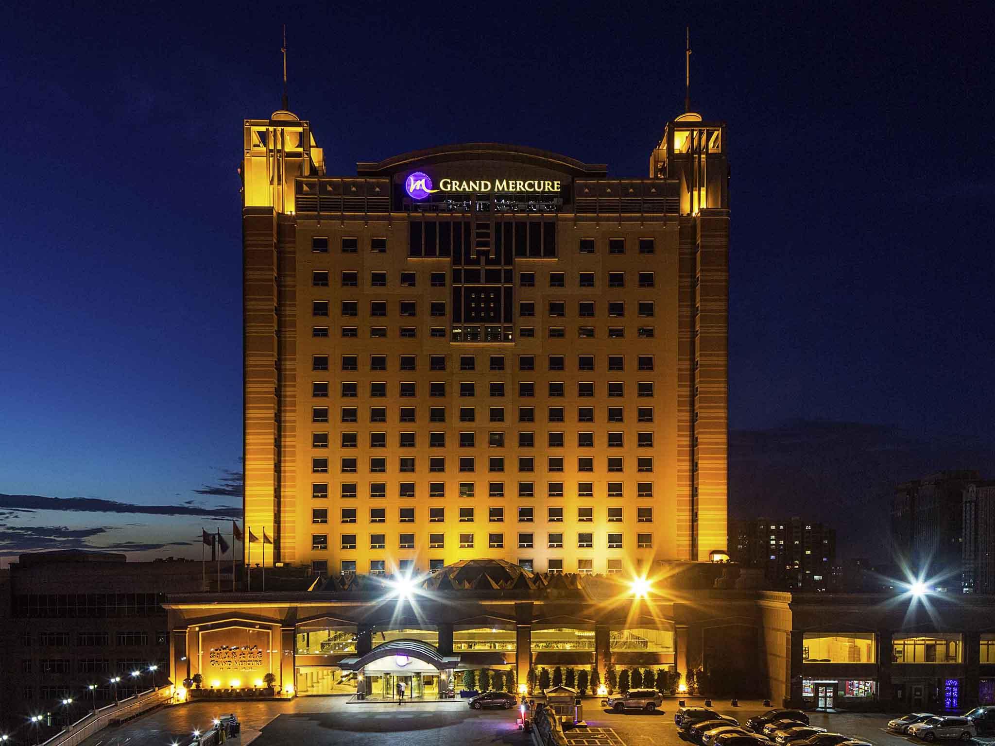 โรงแรม – Grand Mercure Urumqi Hualing