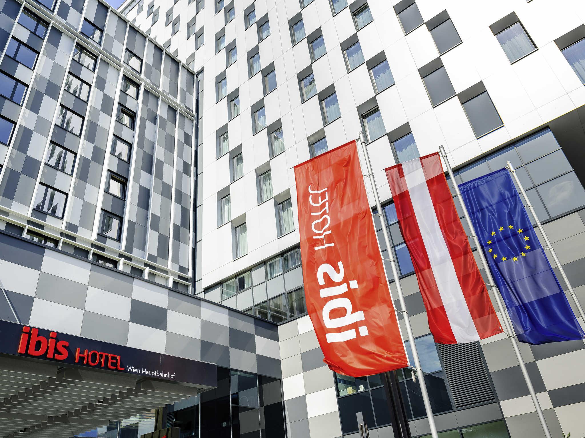 Hotell – ibis Wien Hauptbahnhof
