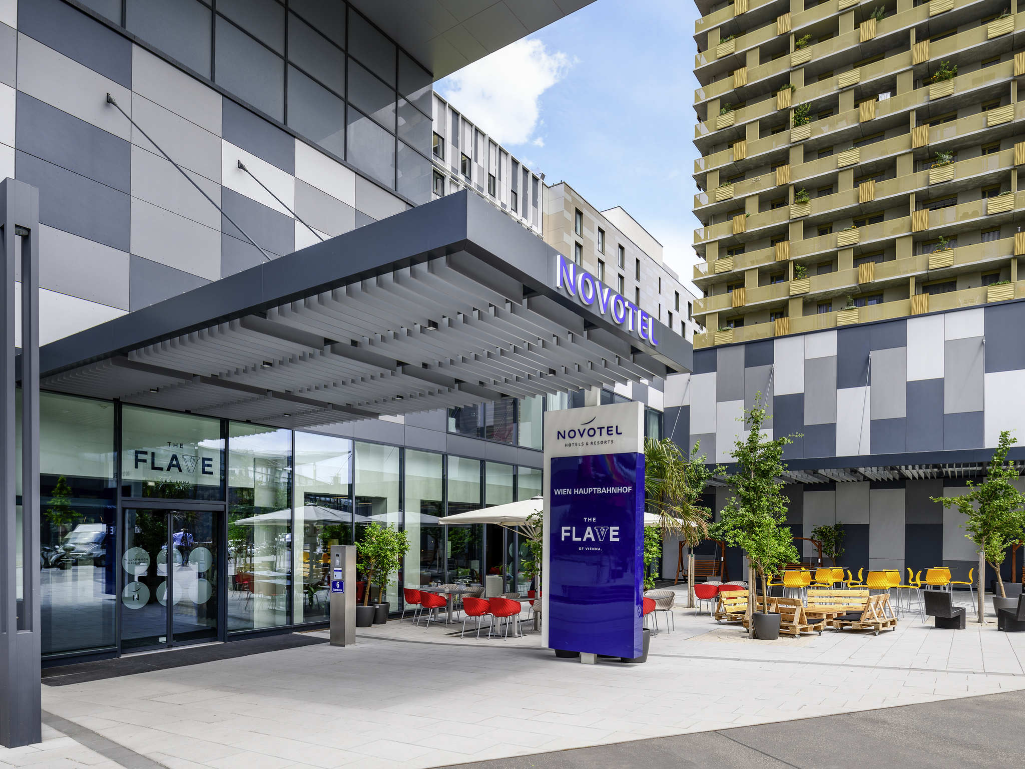 Hotel – Novotel Wien Hauptbahnhof
