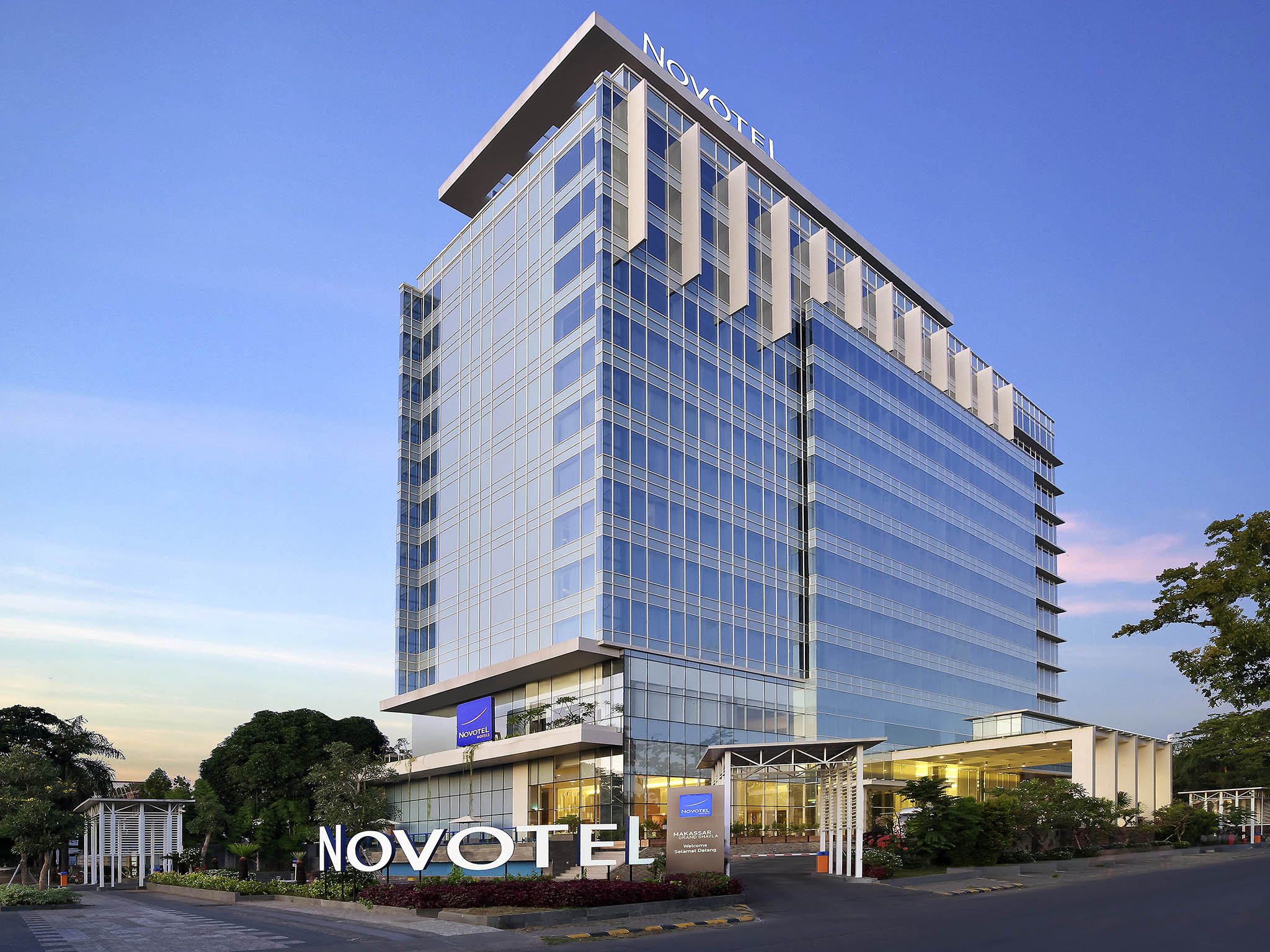 Отель — Novotel Makassar Grand Shayla