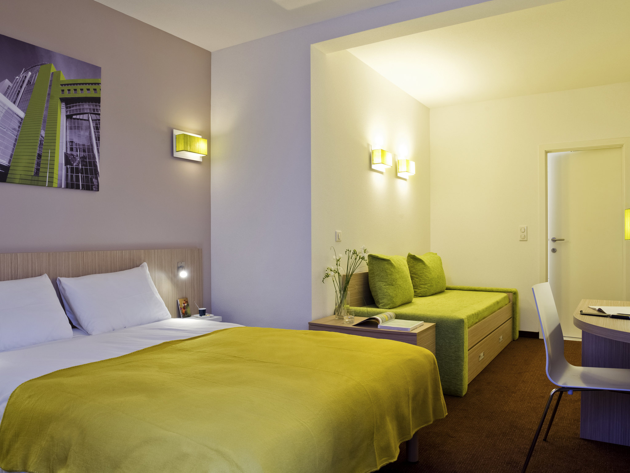 Отель — Aparthotel Adagio Access Брюссель Европа