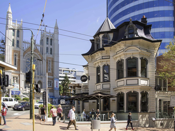Destinazione - Grand Mercure Wellington Central City Apartments