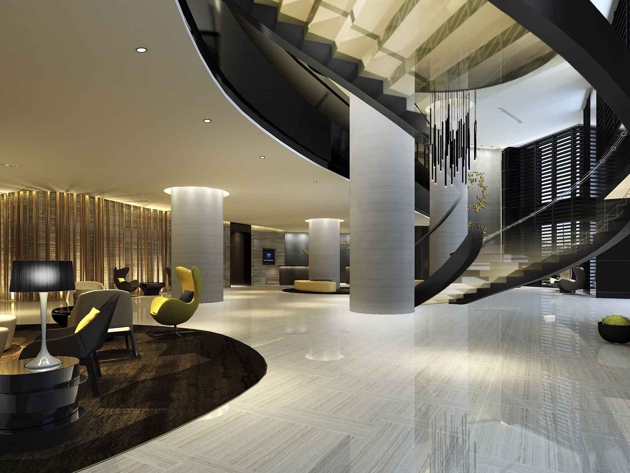 Отель — Grand Mercure Дунгуань Тайпень