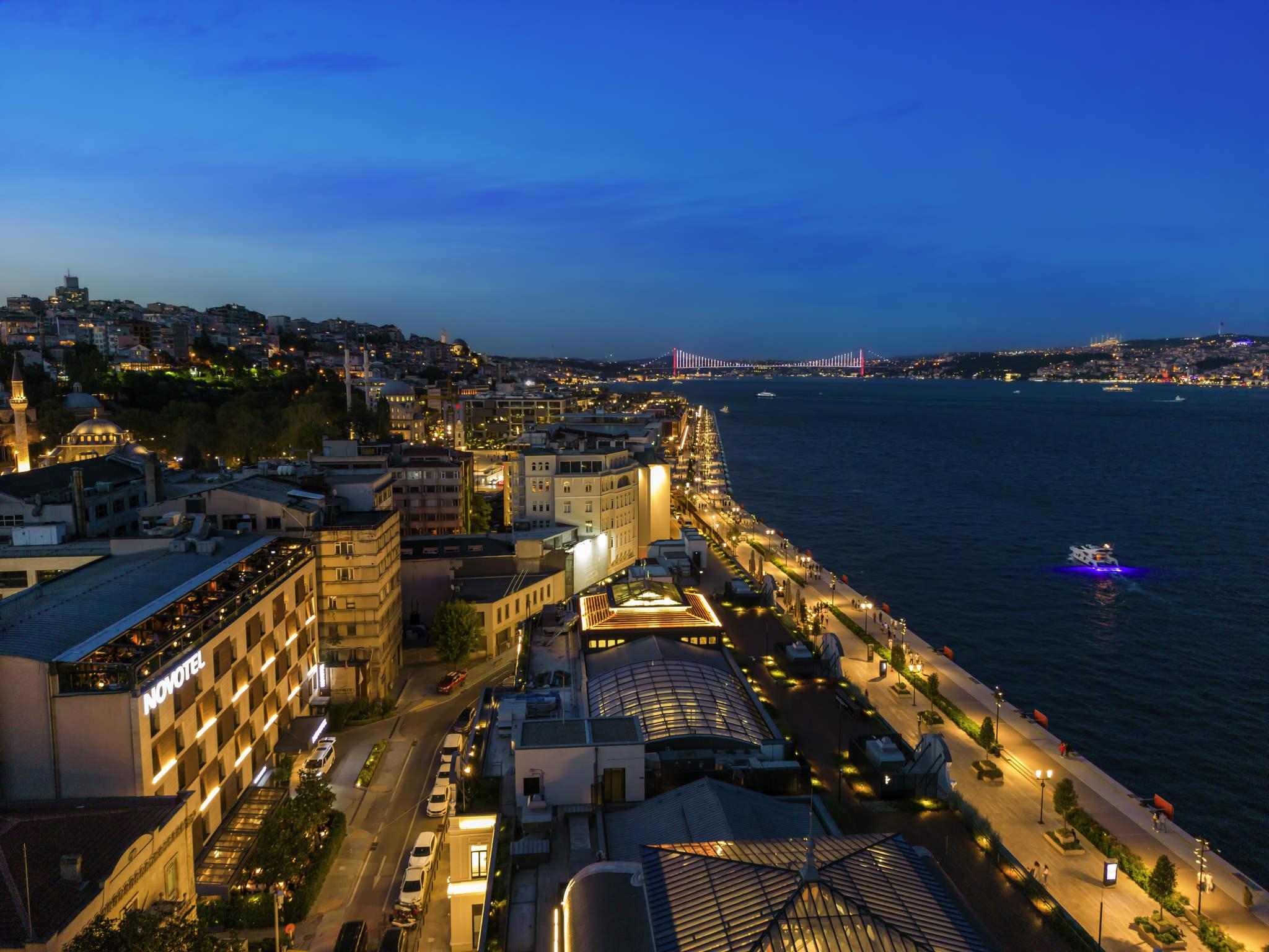 فندق - فندق نوفوتيل Novotel إسطنبول بوسفورس