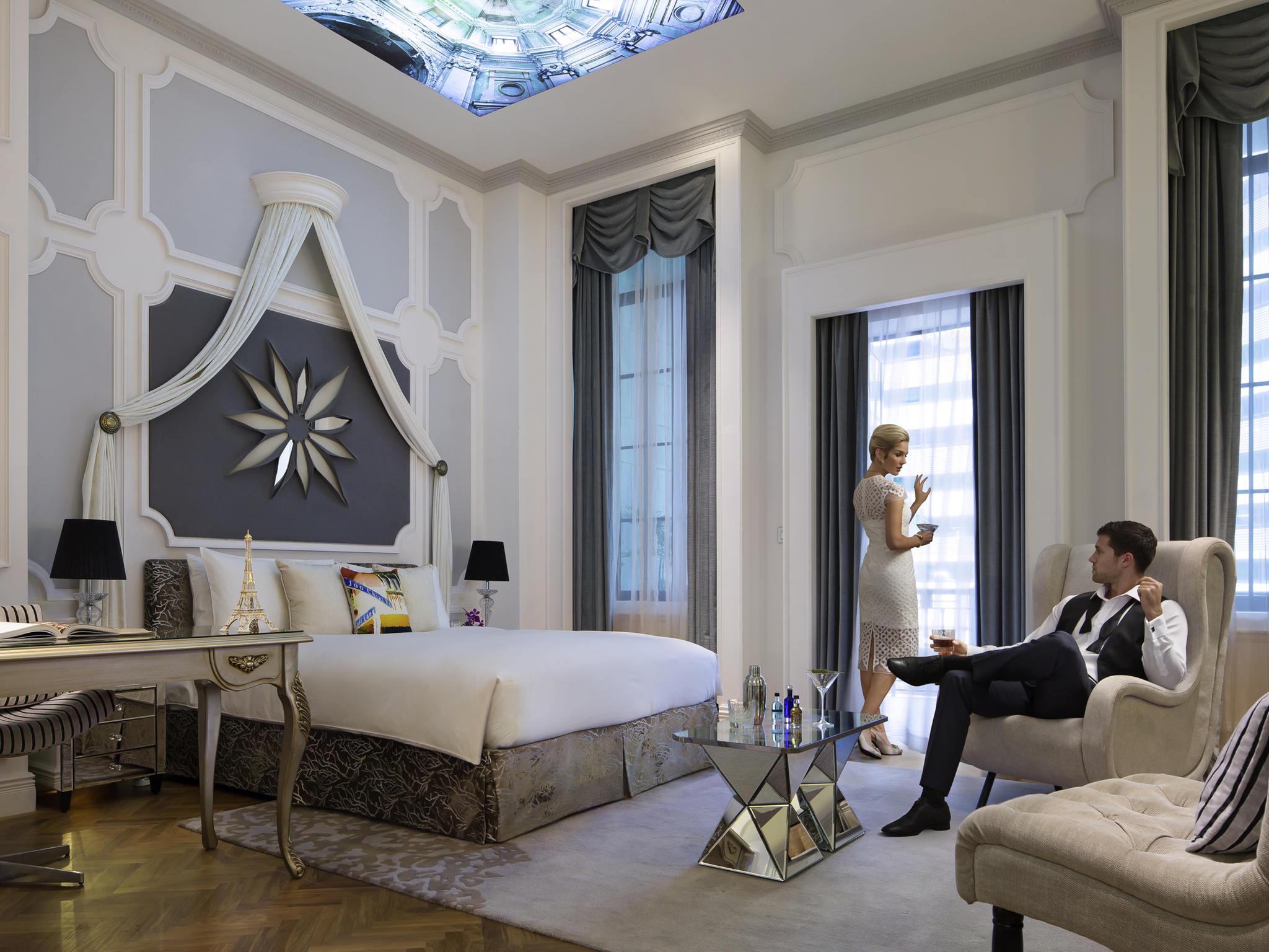 فندق - سو سوفيتل SO Sofitel سنغافورة
