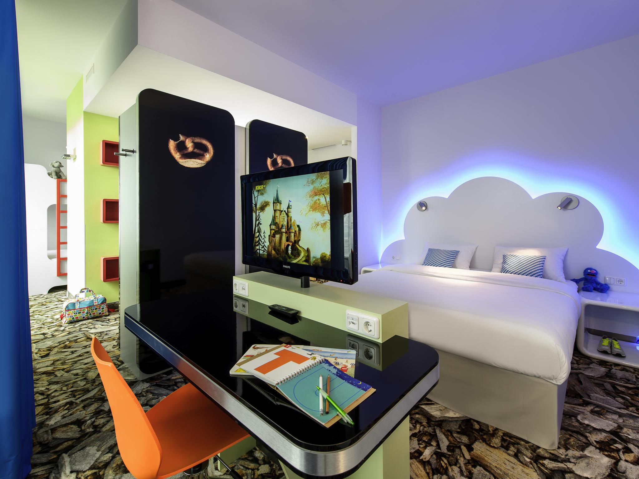 Отель — ibis Styles Мюнхен Восток Мессе