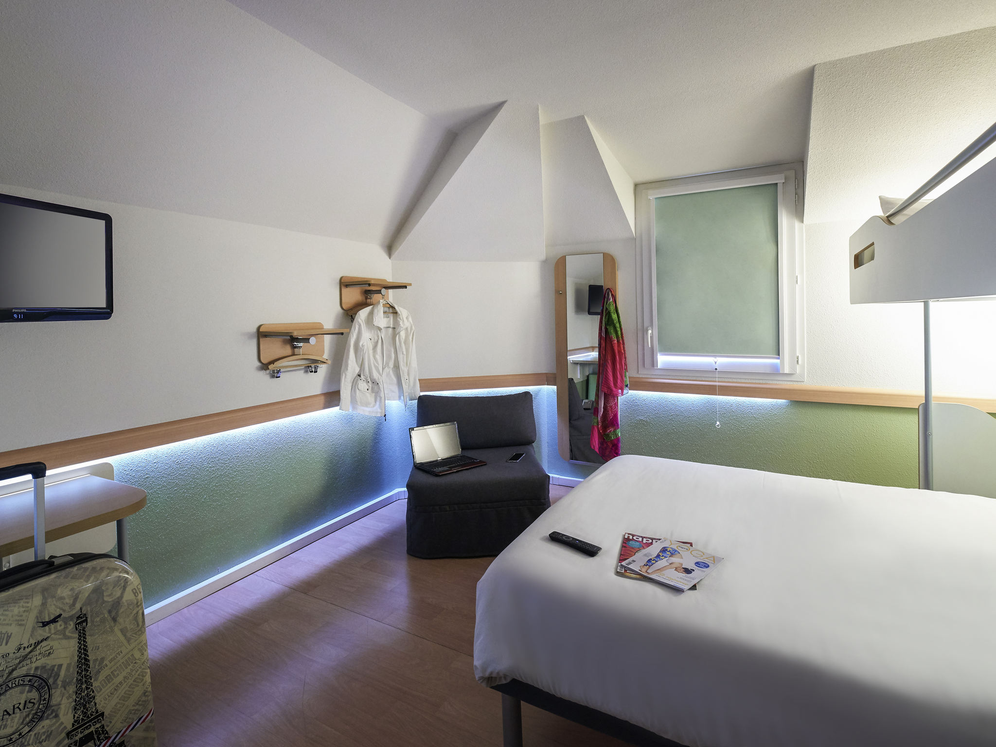 Hotell – ibis budget Cholet Centre