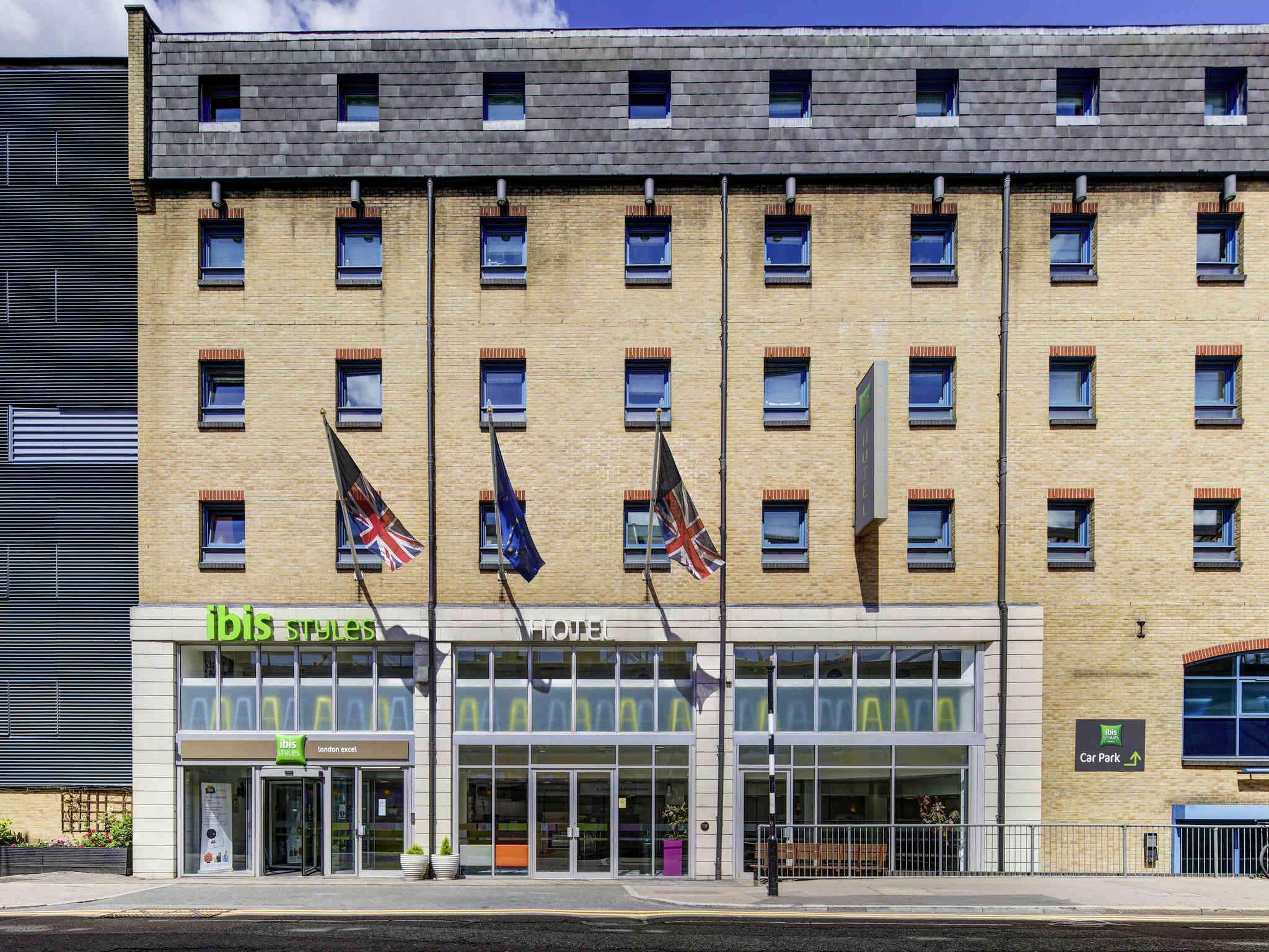 Отель — ibis Styles Лондон Эксель