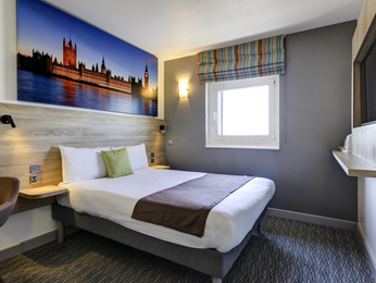 Kamers - ibis Styles Londen Excel (Formerly Custom House Hotel)
