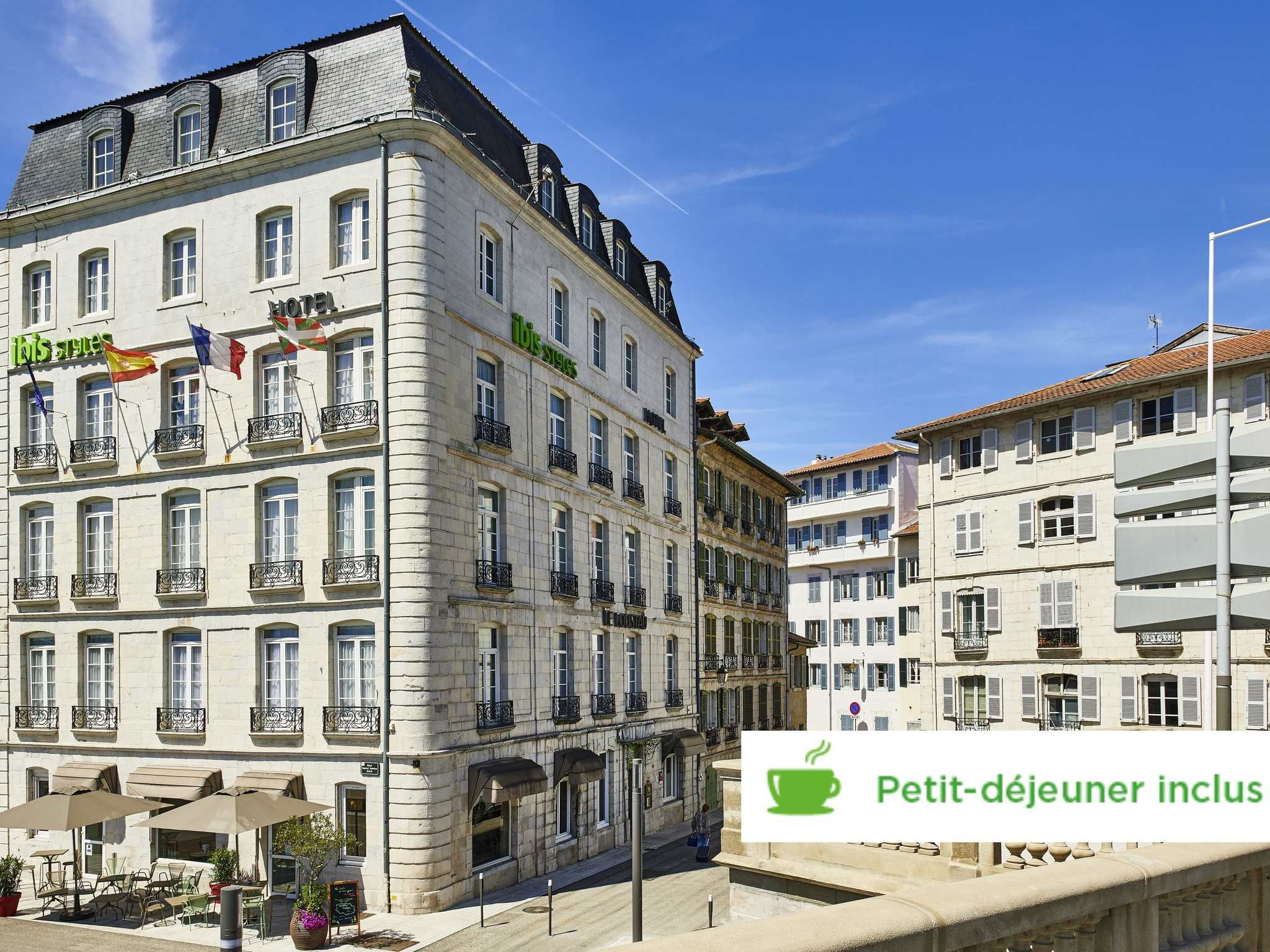 Hotell – ibis Styles Bayonne Centre Gare